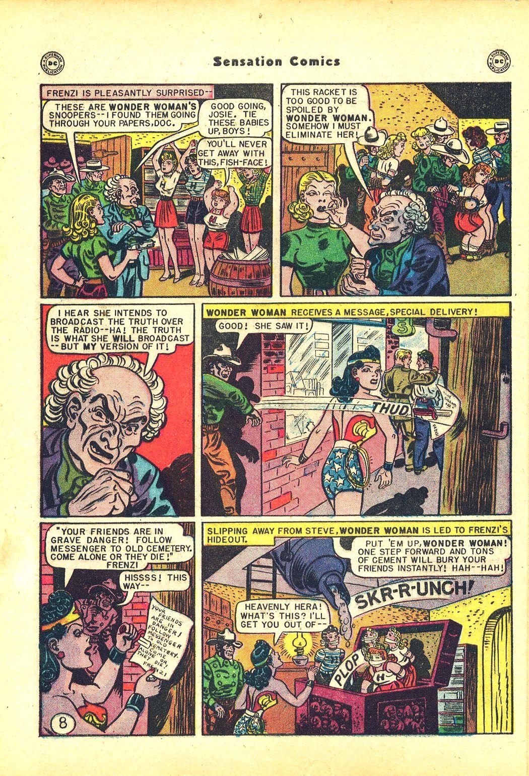 Read online Sensation (Mystery) Comics comic -  Issue #81 - 10