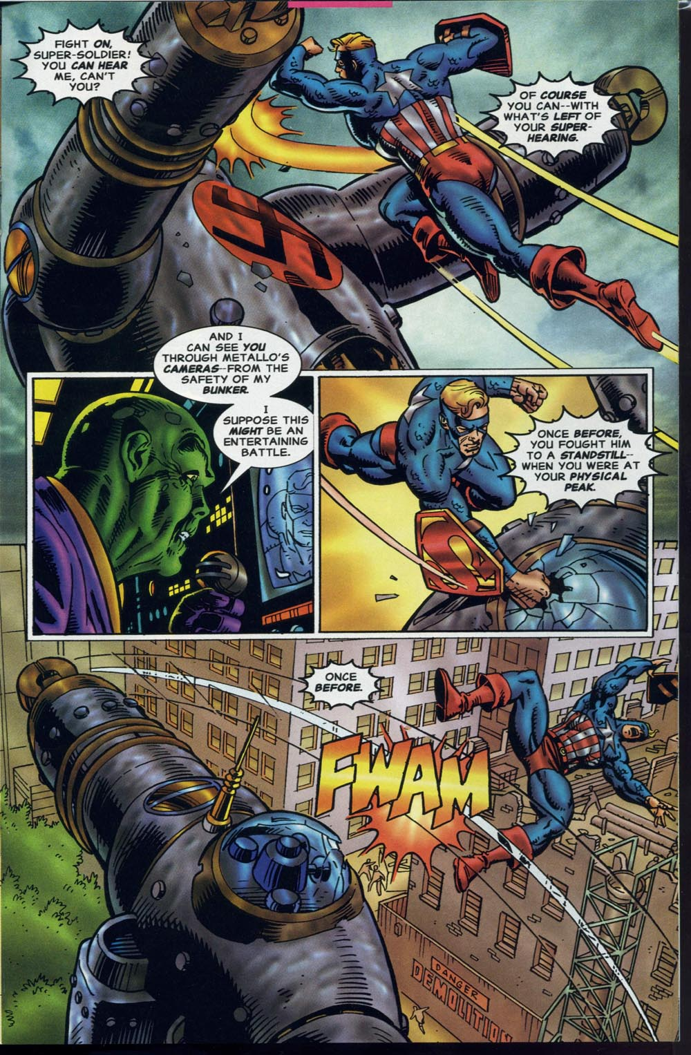 Read online Super Soldier comic -  Issue # Full - 14