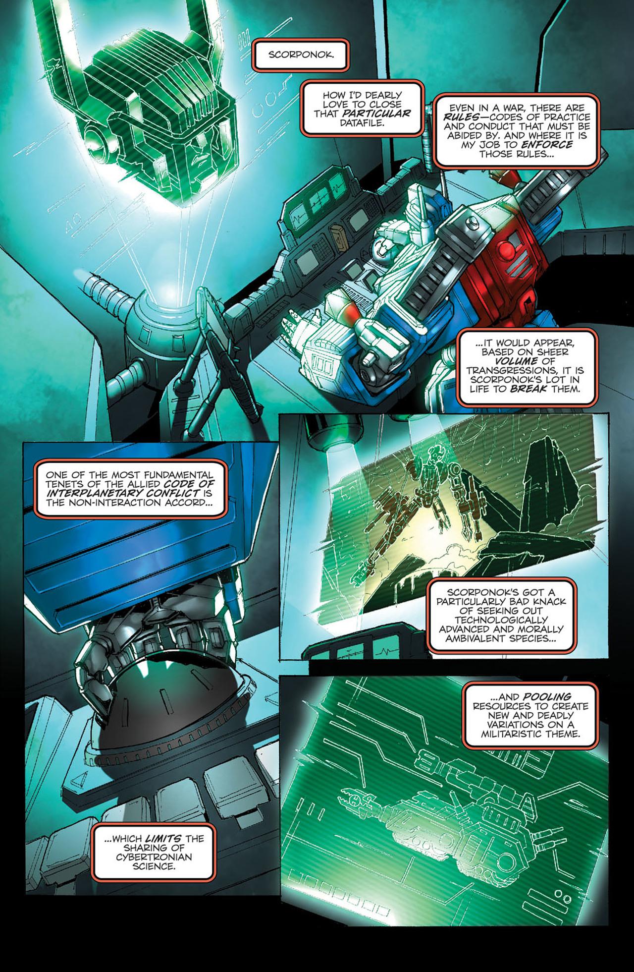 Read online Transformers Spotlight: Ultra Magnus comic -  Issue # Full - 10