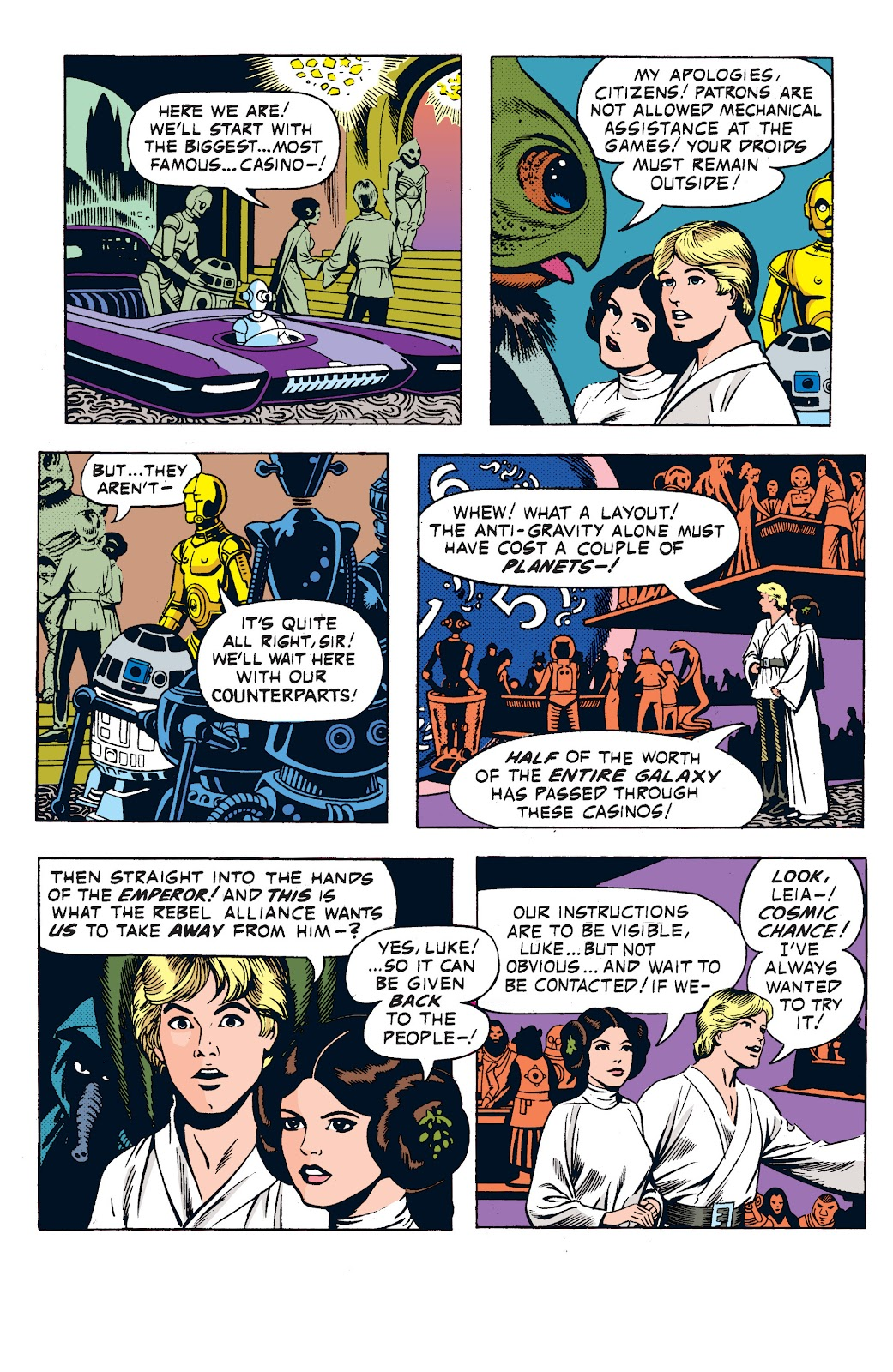 Read online Star Wars Legends: The Newspaper Strips - Epic Collection comic -  Issue # TPB (Part 1) - 45