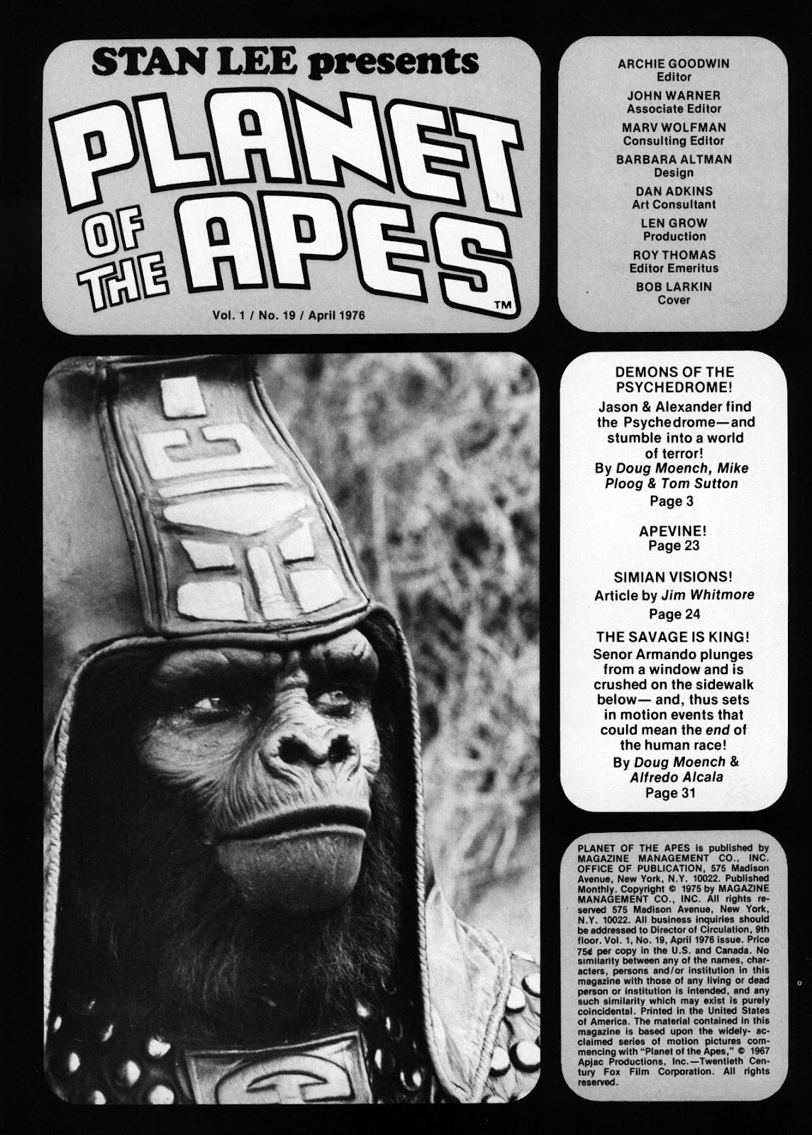 Planet of the Apes (1974) 19 Page 2