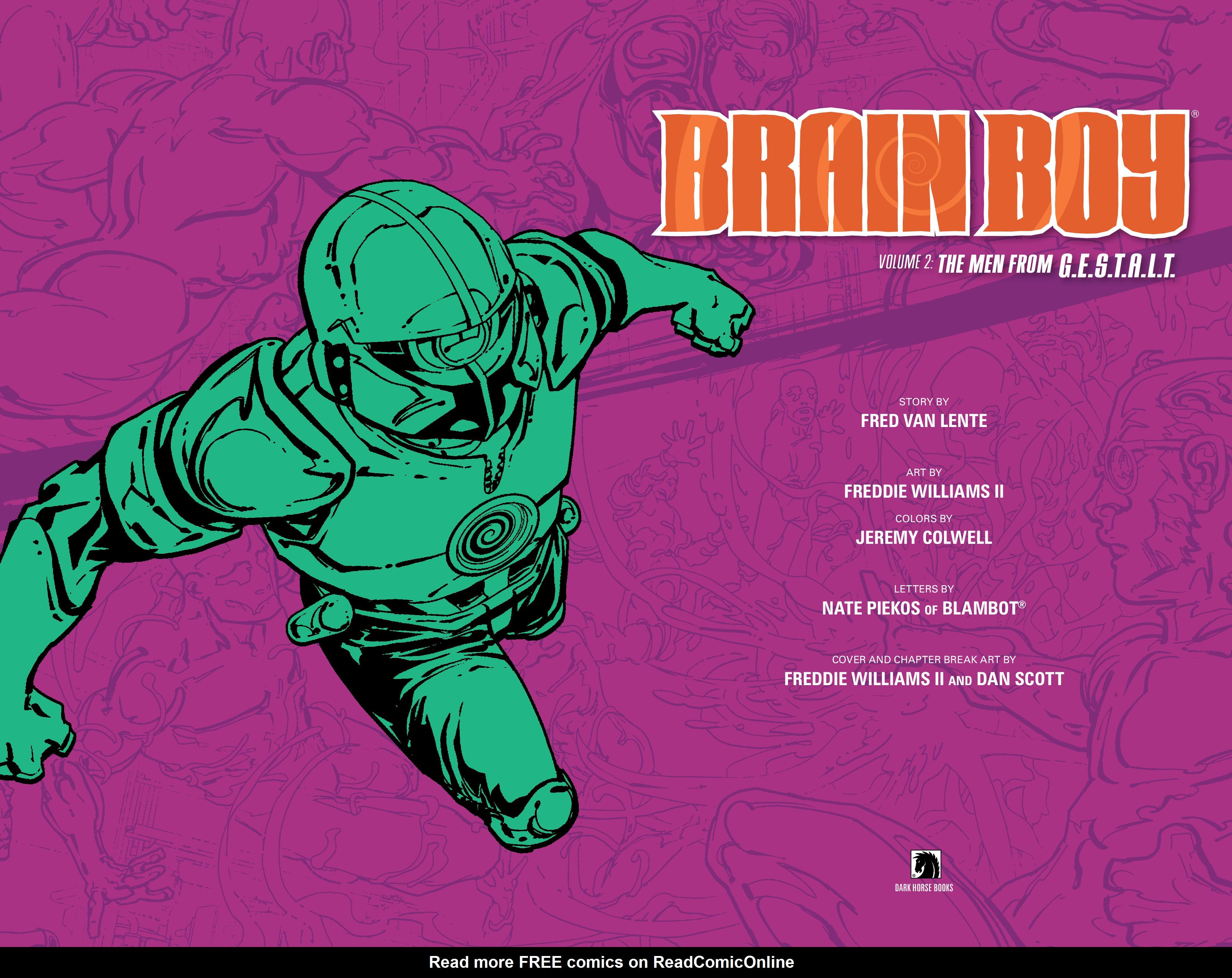 Read online Brain Boy:  The Men from G.E.S.T.A.L.T. comic -  Issue # TPB - 4