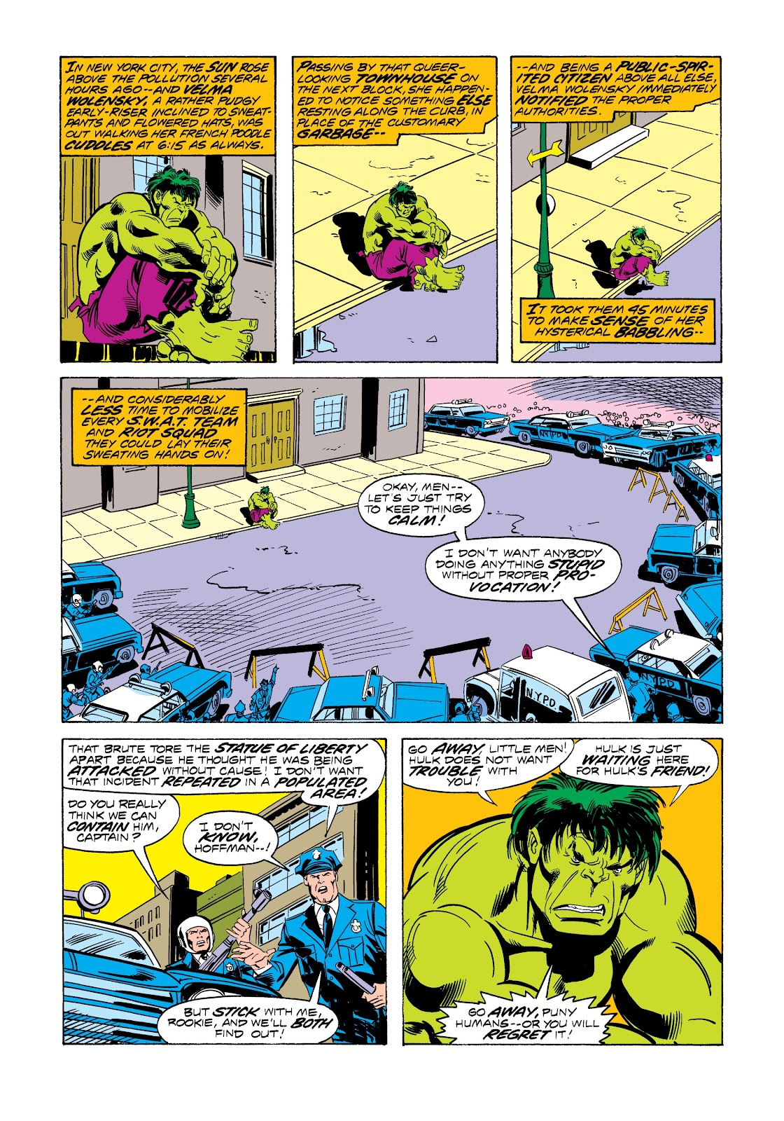 Read online Marvel Masterworks: The Incredible Hulk comic -  Issue # TPB 12 (Part 3) - 22