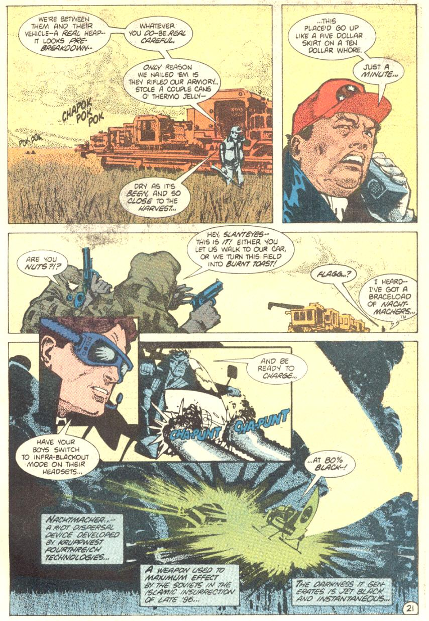 Read online American Flagg! comic -  Issue #2 - 22