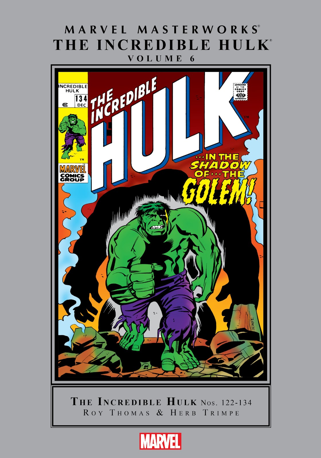 Read online Marvel Masterworks: The Incredible Hulk comic -  Issue # TPB 6 (Part 1) - 1