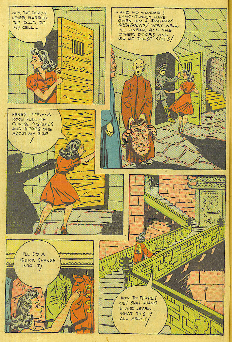 Read online Shadow Comics comic -  Issue #71 - 49