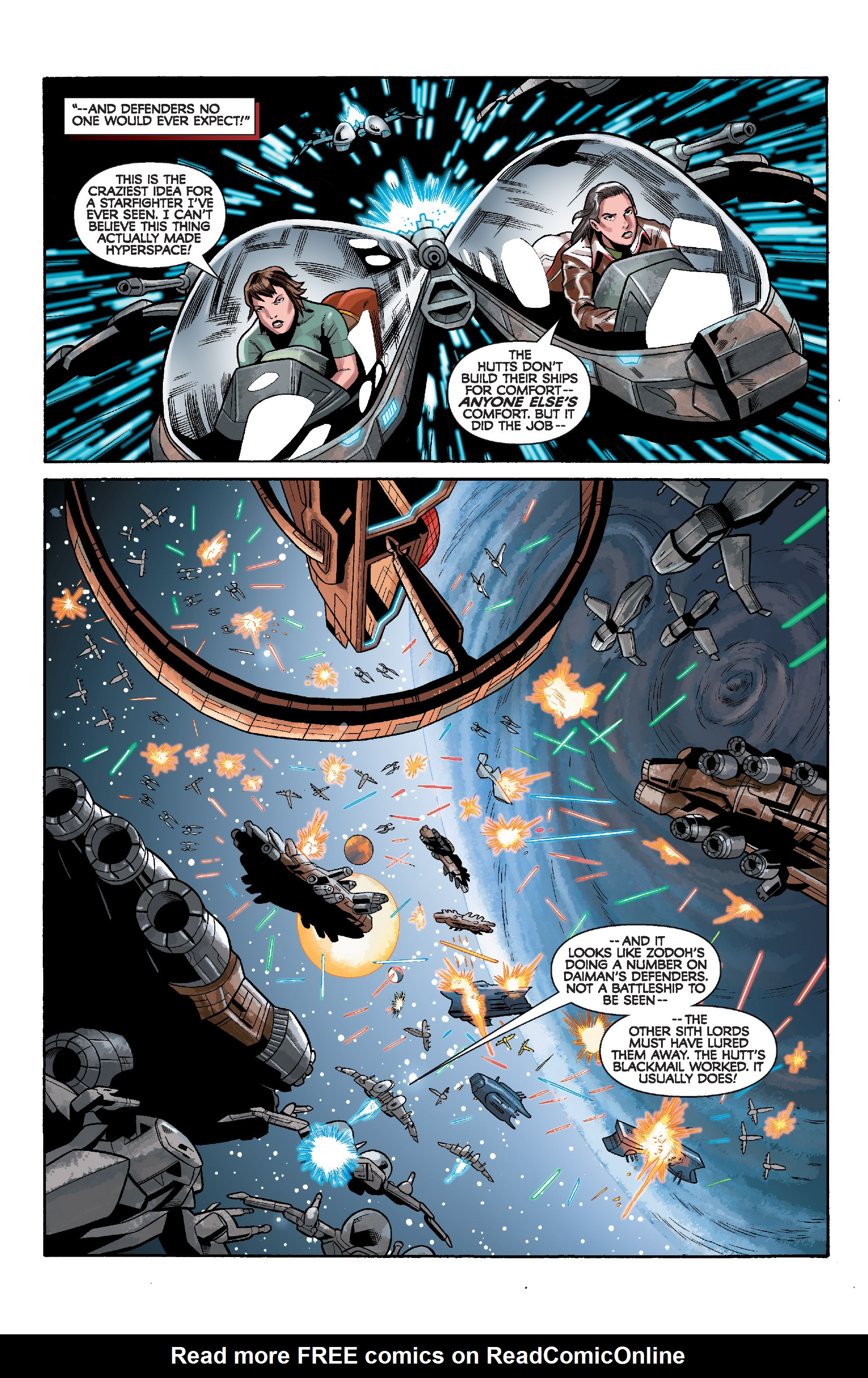 Read online Star Wars: Knight Errant - Deluge comic -  Issue #5 - 6