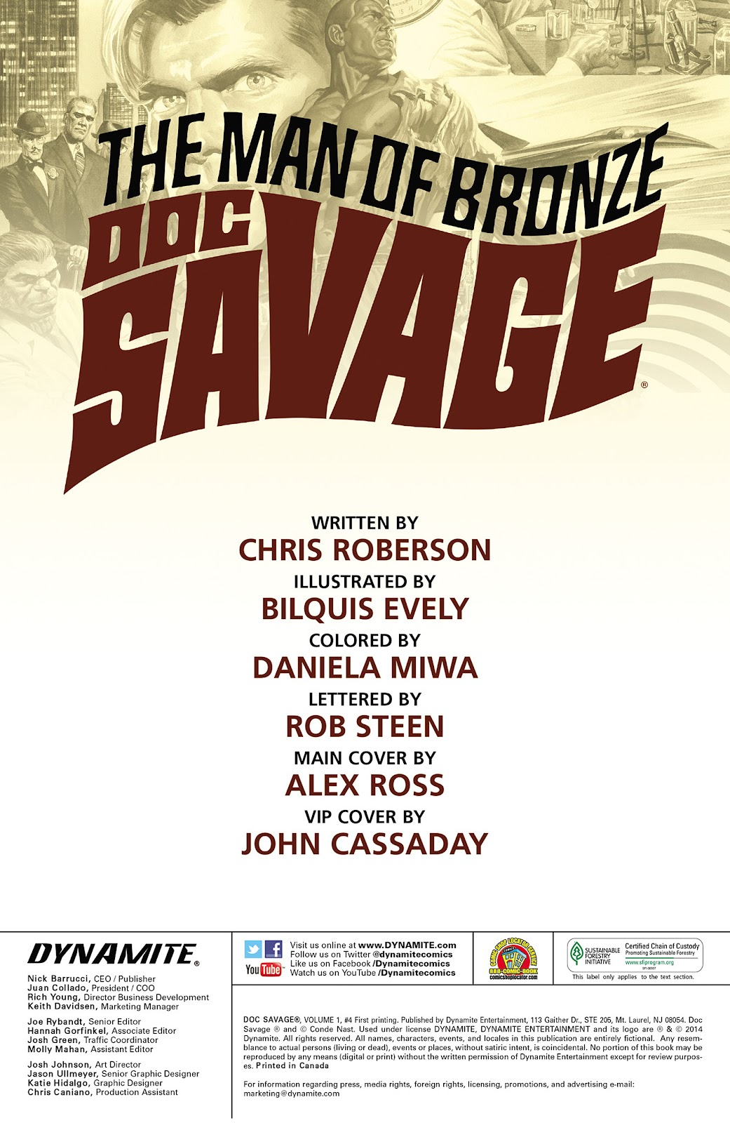 Doc Savage (2013) issue 4 - Page 2