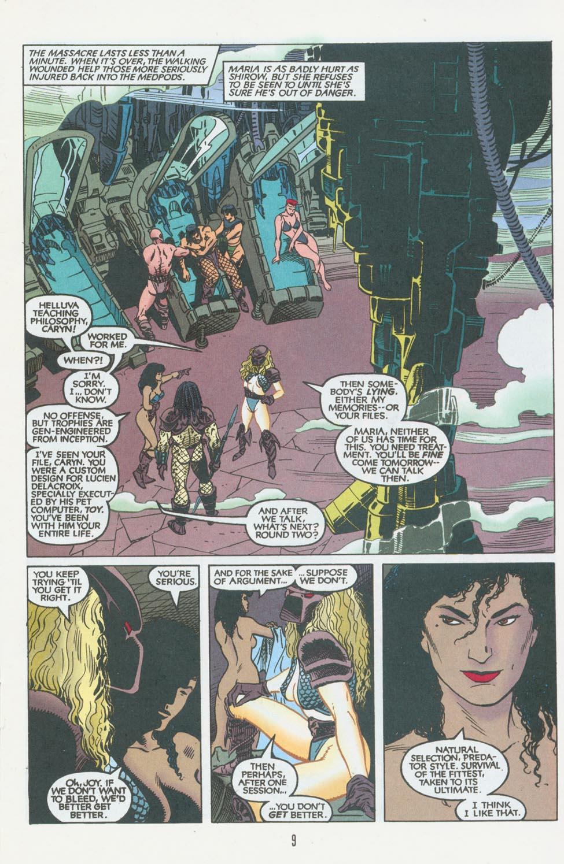 Read online Aliens/Predator: The Deadliest of the Species comic -  Issue #10 - 10