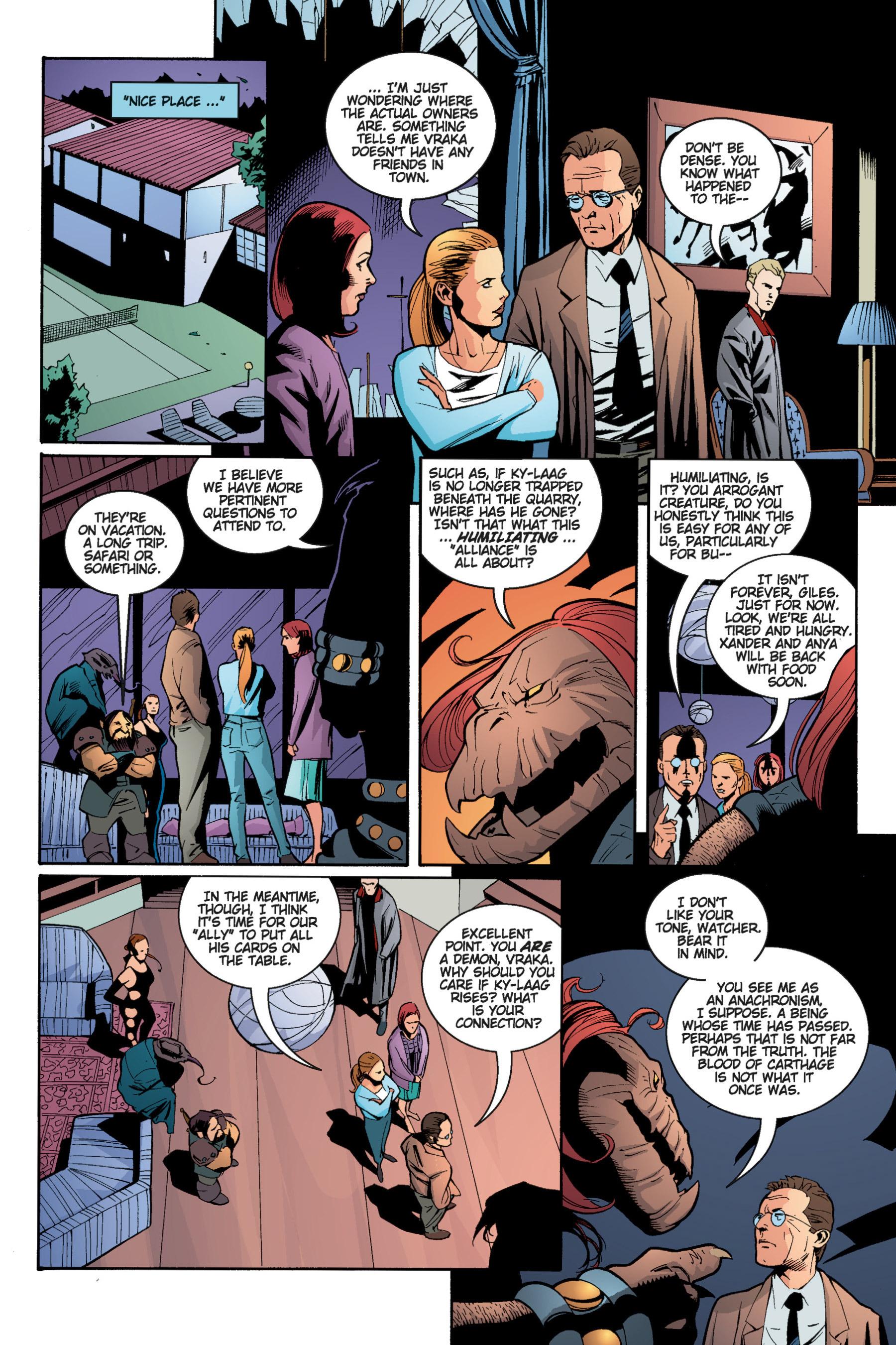 Read online Buffy the Vampire Slayer: Omnibus comic -  Issue # TPB 5 - 207