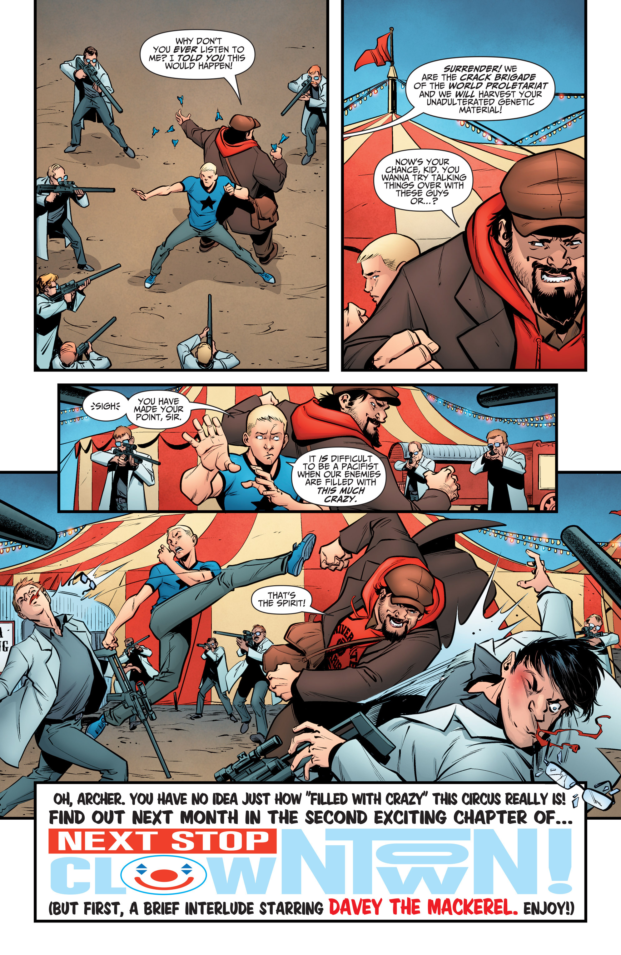 Read online A&A: The Adventures of Archer & Armstrong comic -  Issue #6 - 20