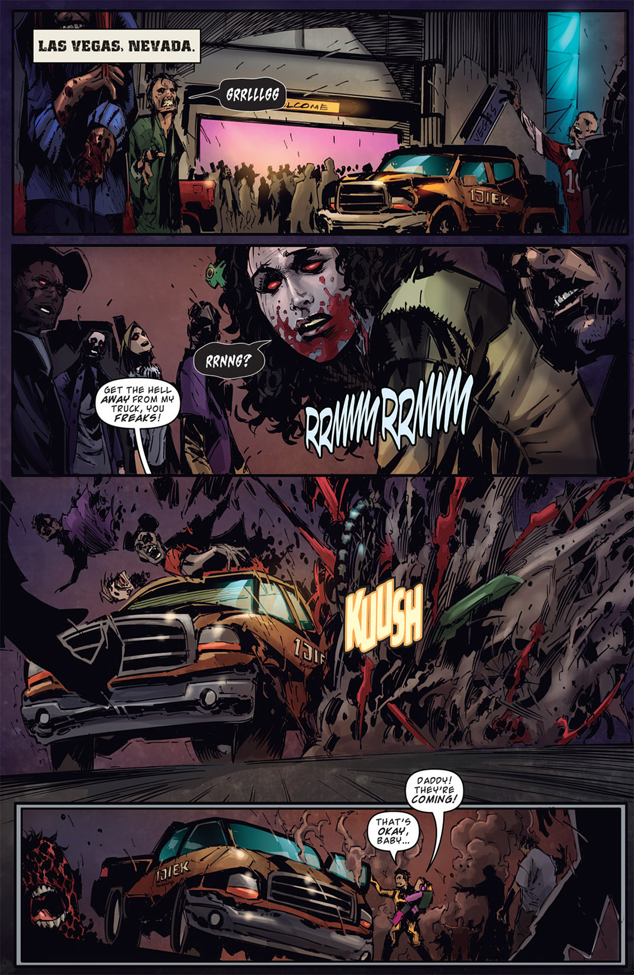 Read online Dead Rising: Road to Fortune comic -  Issue # TPB - 78