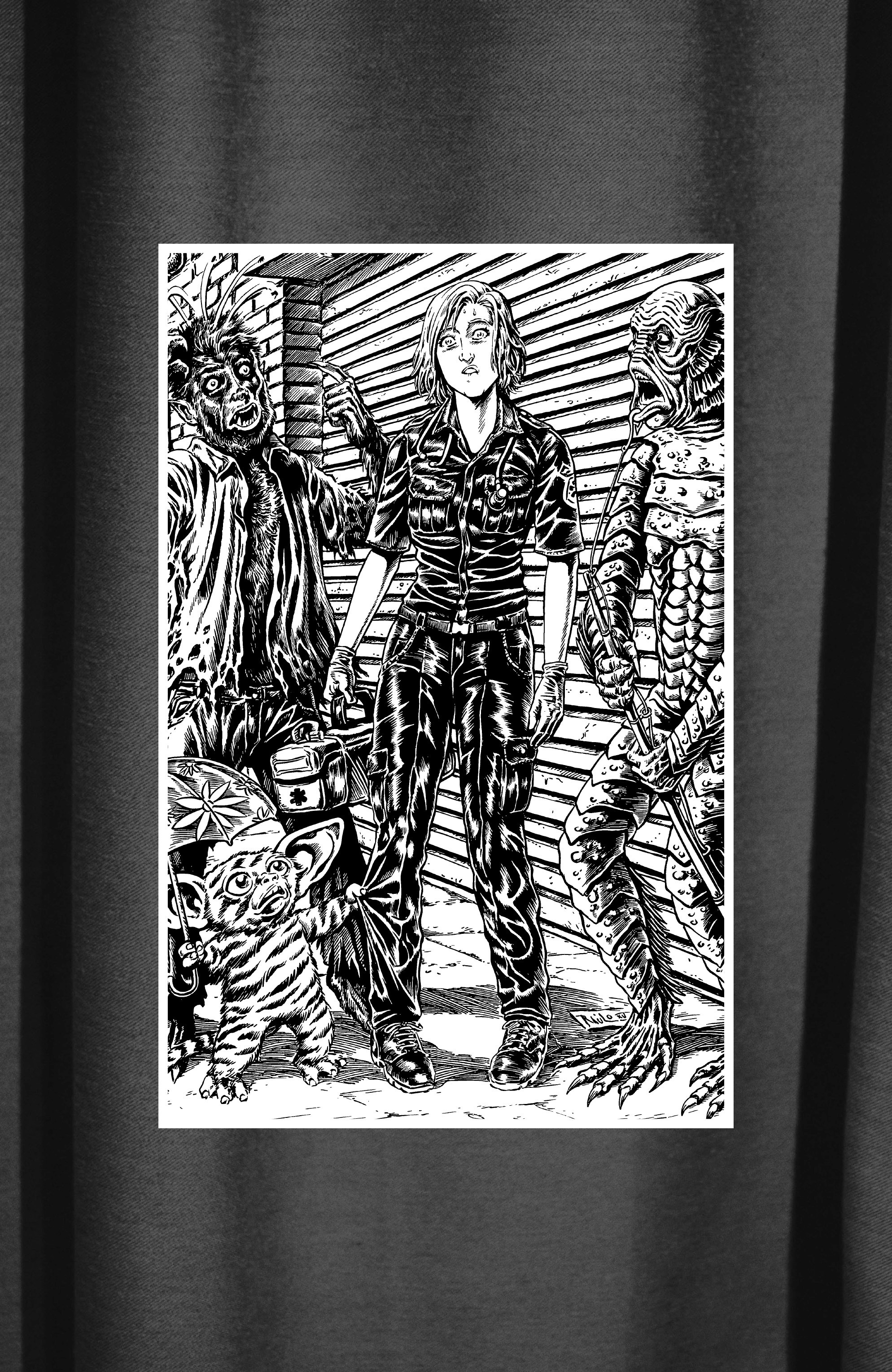 Read online Alan Moore's Cinema Purgatorio comic -  Issue #6 - 14