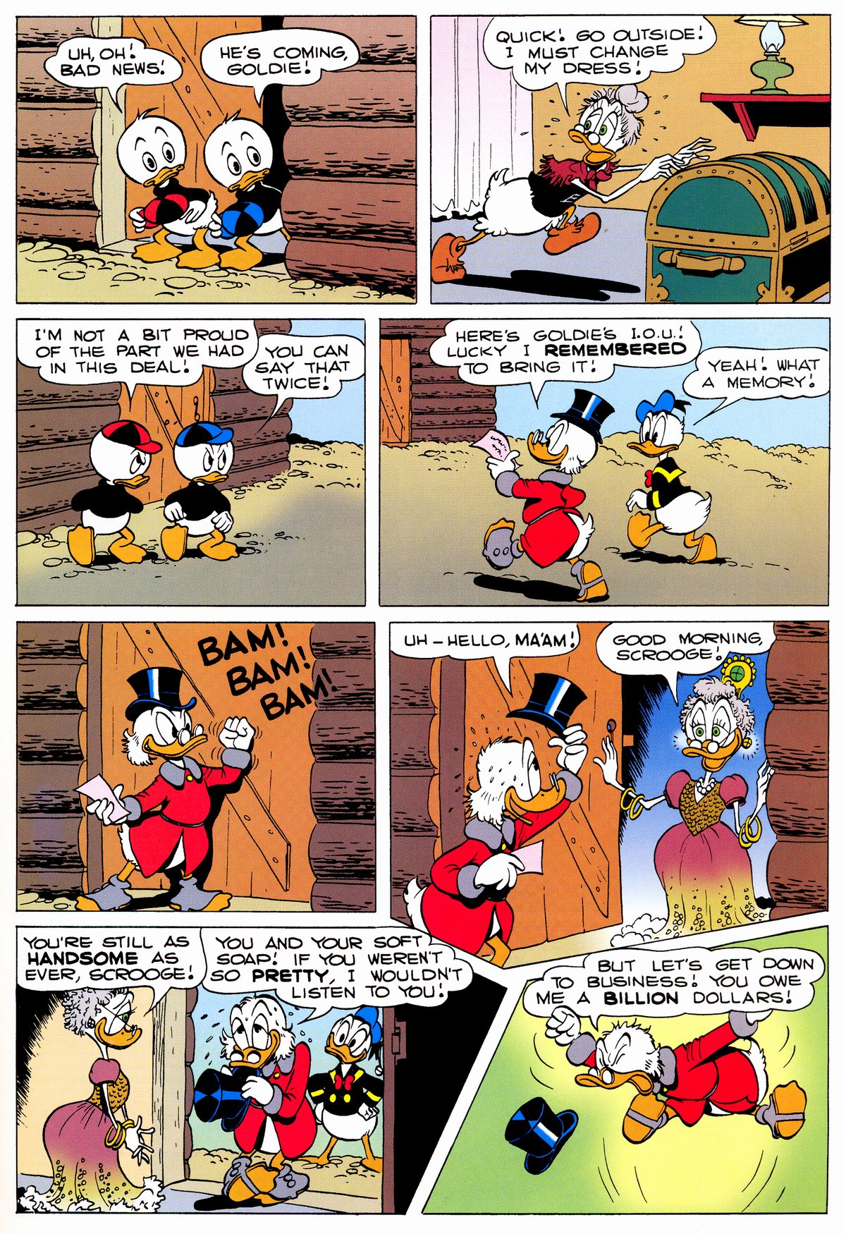 Read online Uncle Scrooge (1953) comic -  Issue #325 - 63