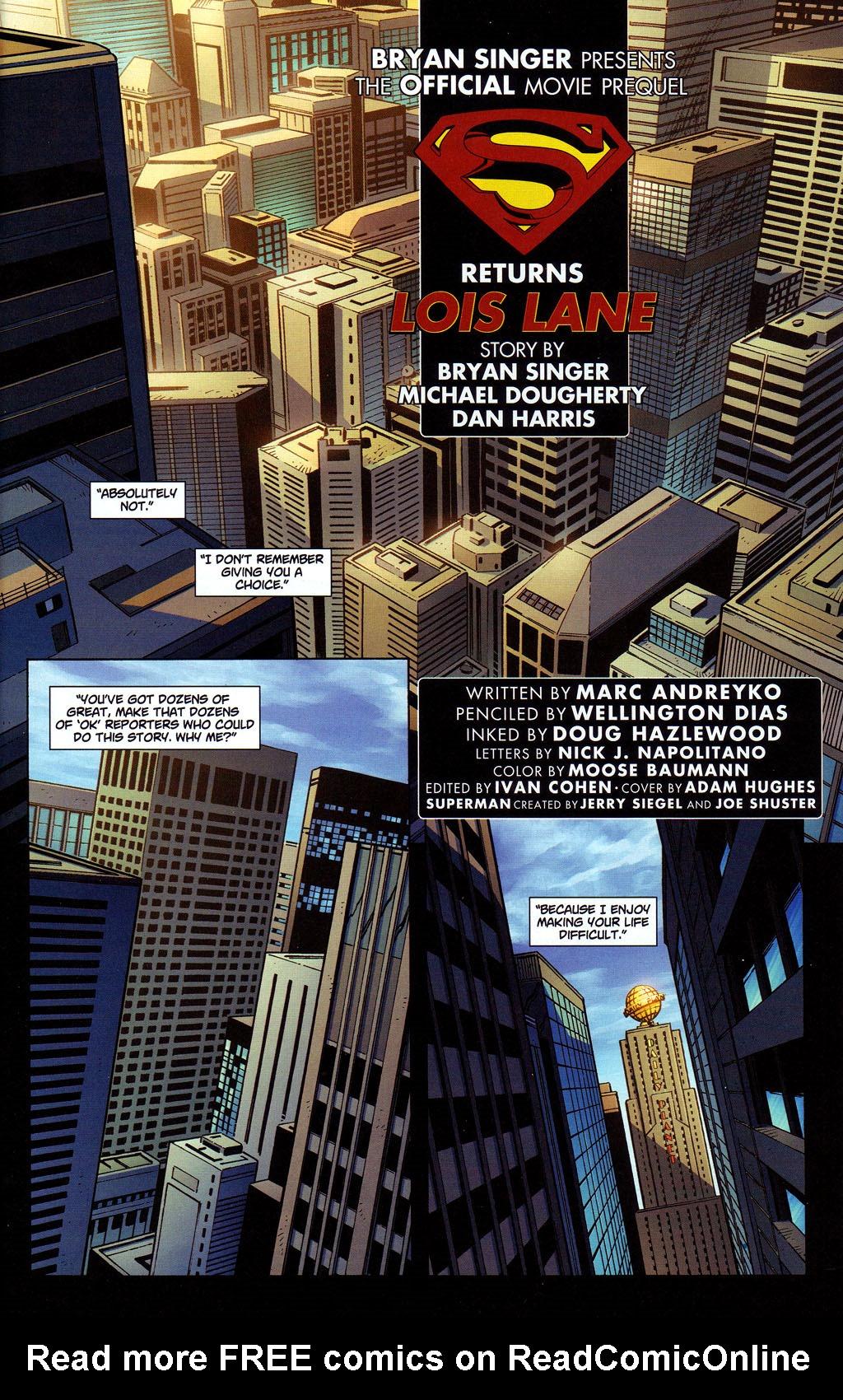 Superman Returns Prequel #4 - Read Superman Returns Prequel
