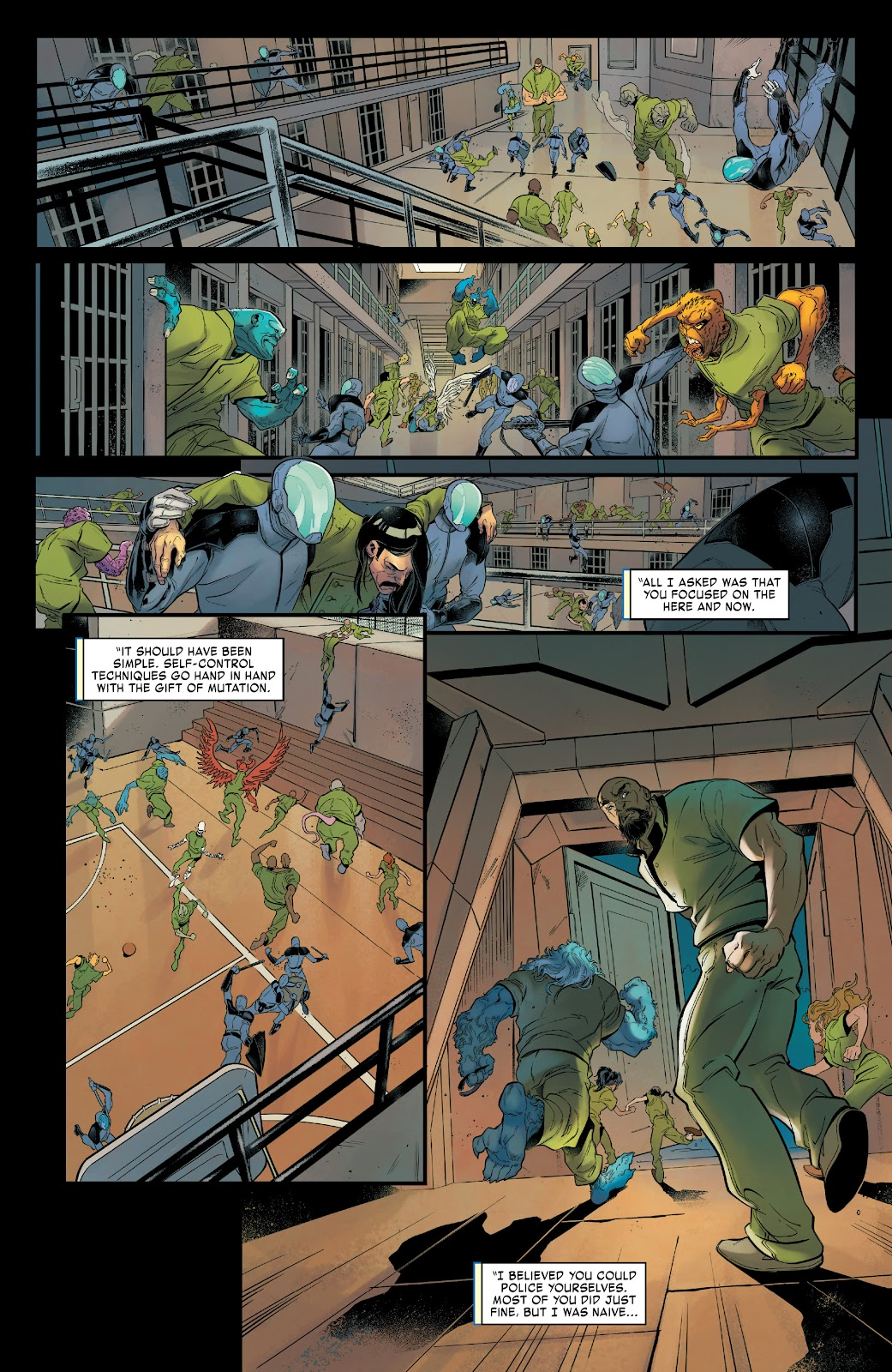 Read online Age of X-Man Omega comic -  Issue # Full - 11