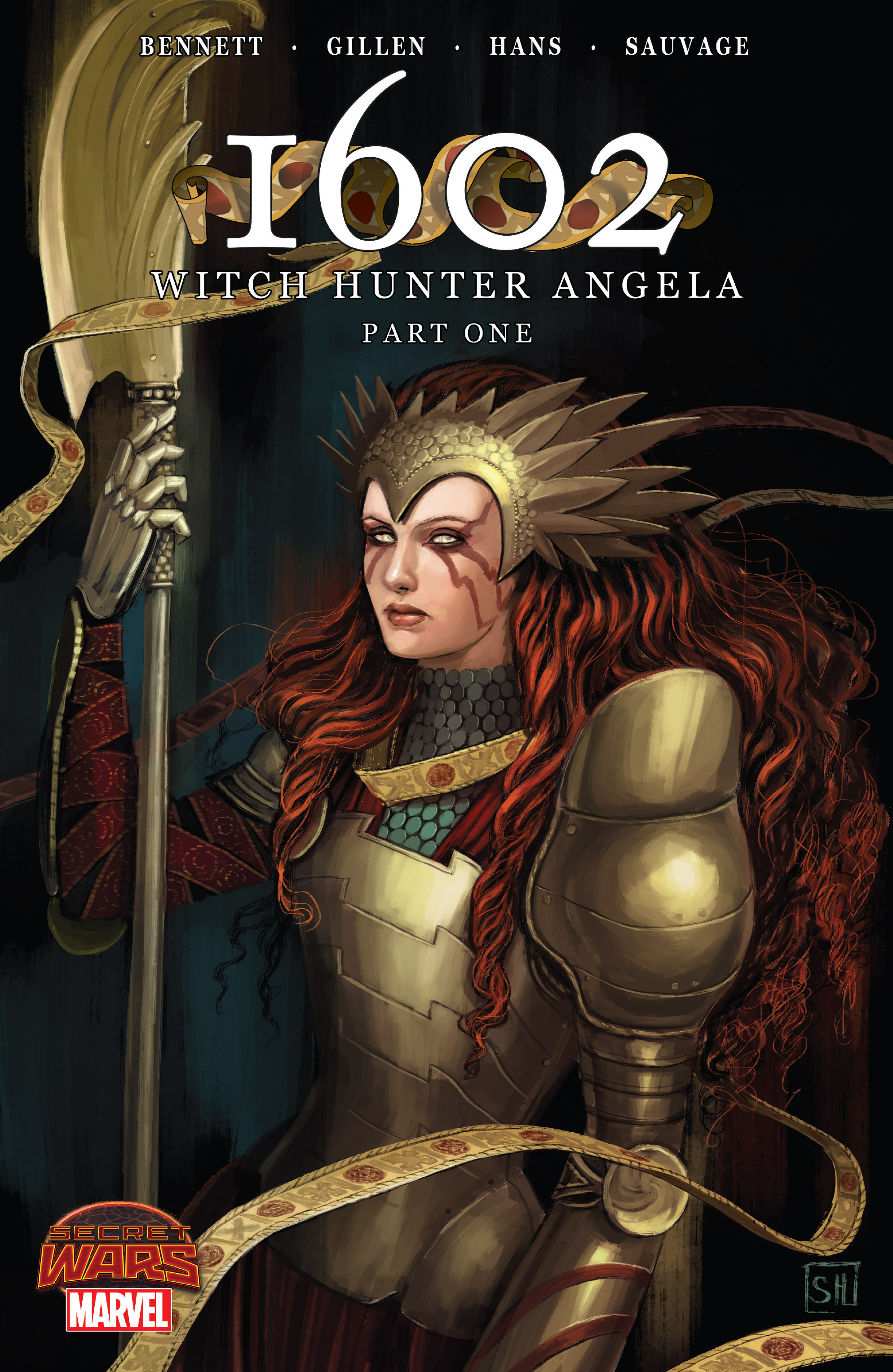 Read online 1602 Witch Hunter Angela comic -  Issue #1 - 1