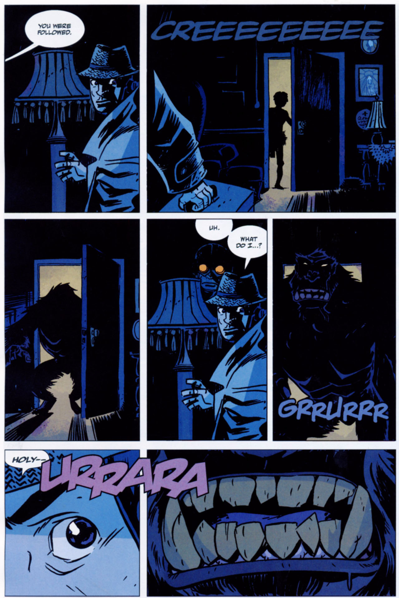 Read online Lobster Johnson: The Iron Prometheus comic -  Issue #1 - 5