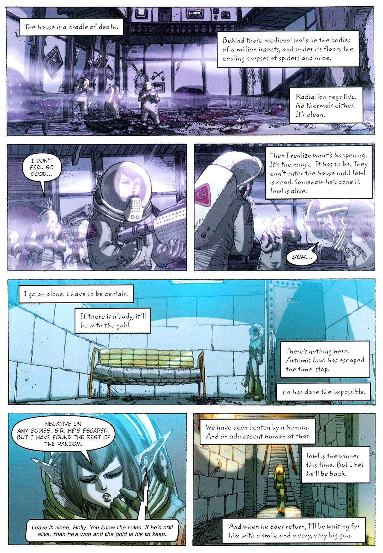 Read online Artemis Fowl: The Graphic Novel comic -  Issue #Artemis Fowl: The Graphic Novel Full - 108