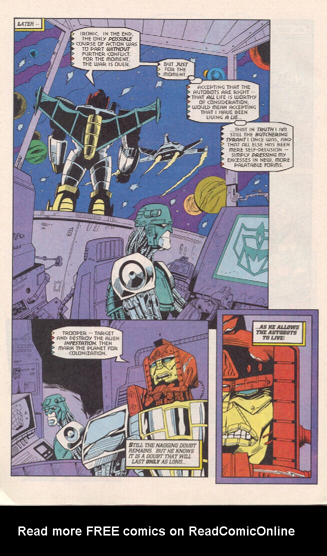 Read online Transformers: Generation 2 comic -  Issue #3 - 18