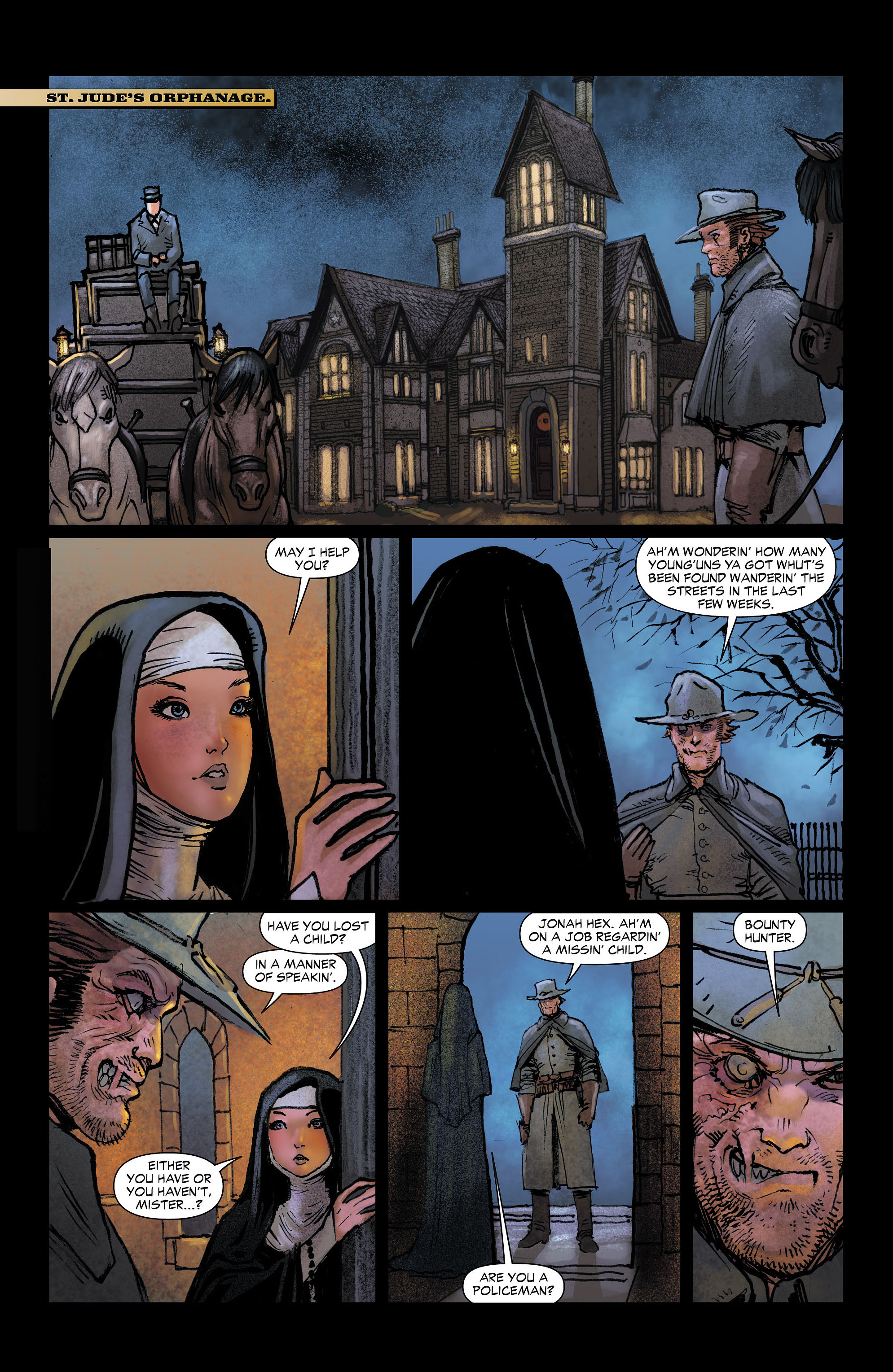 Read online All-Star Western (2011) comic -  Issue #4 - 11