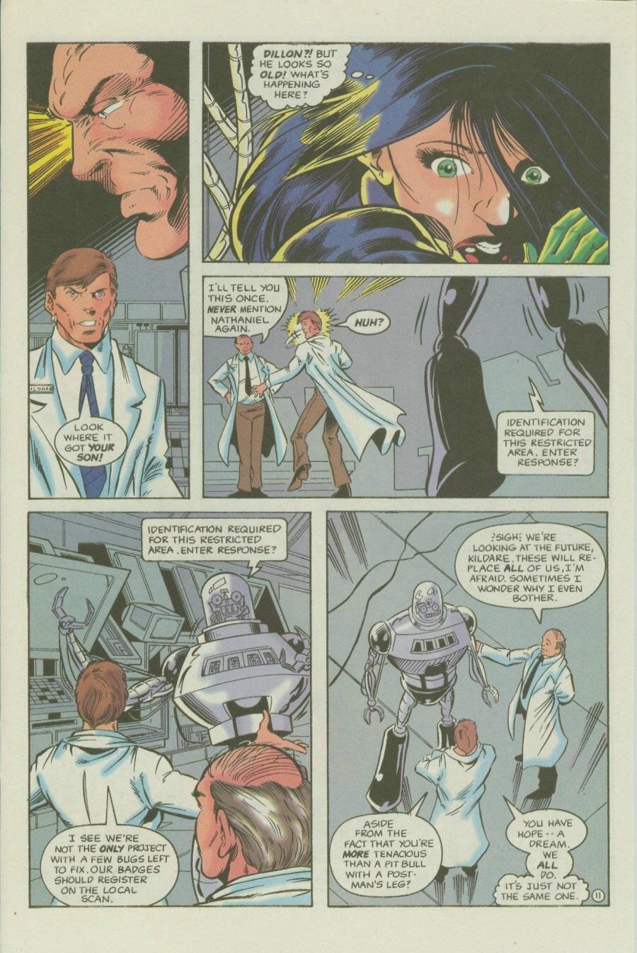 Read online Ex-Mutants comic -  Issue #6 - 15