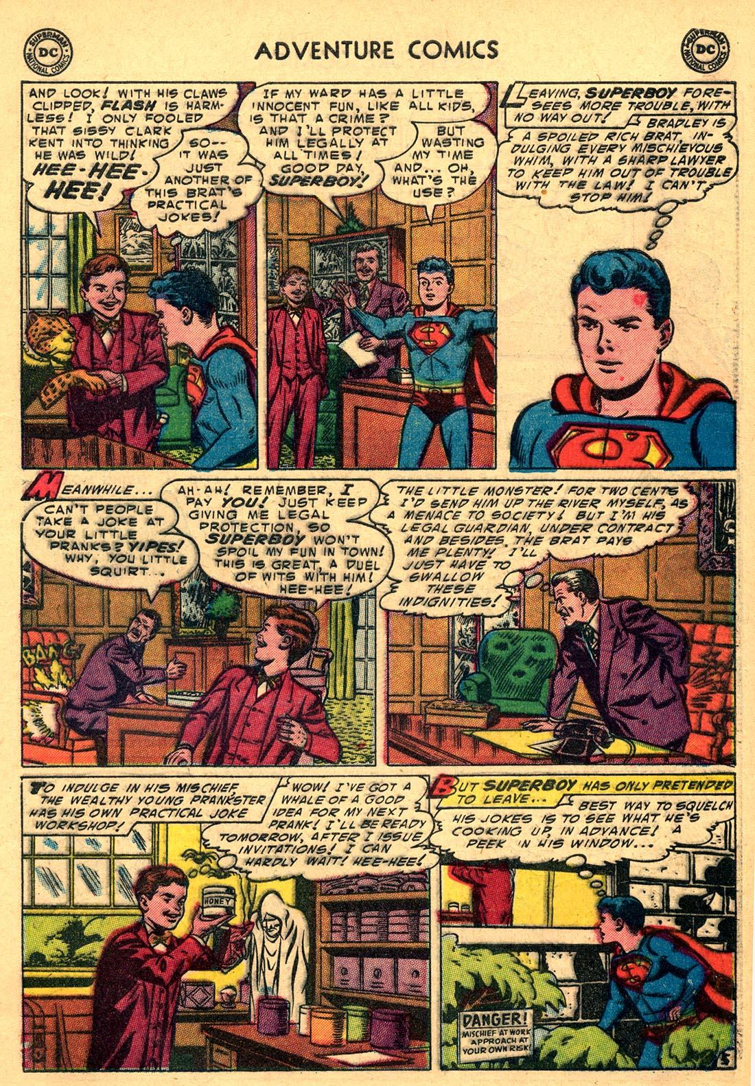 Read online Adventure Comics (1938) comic -  Issue #204 - 7