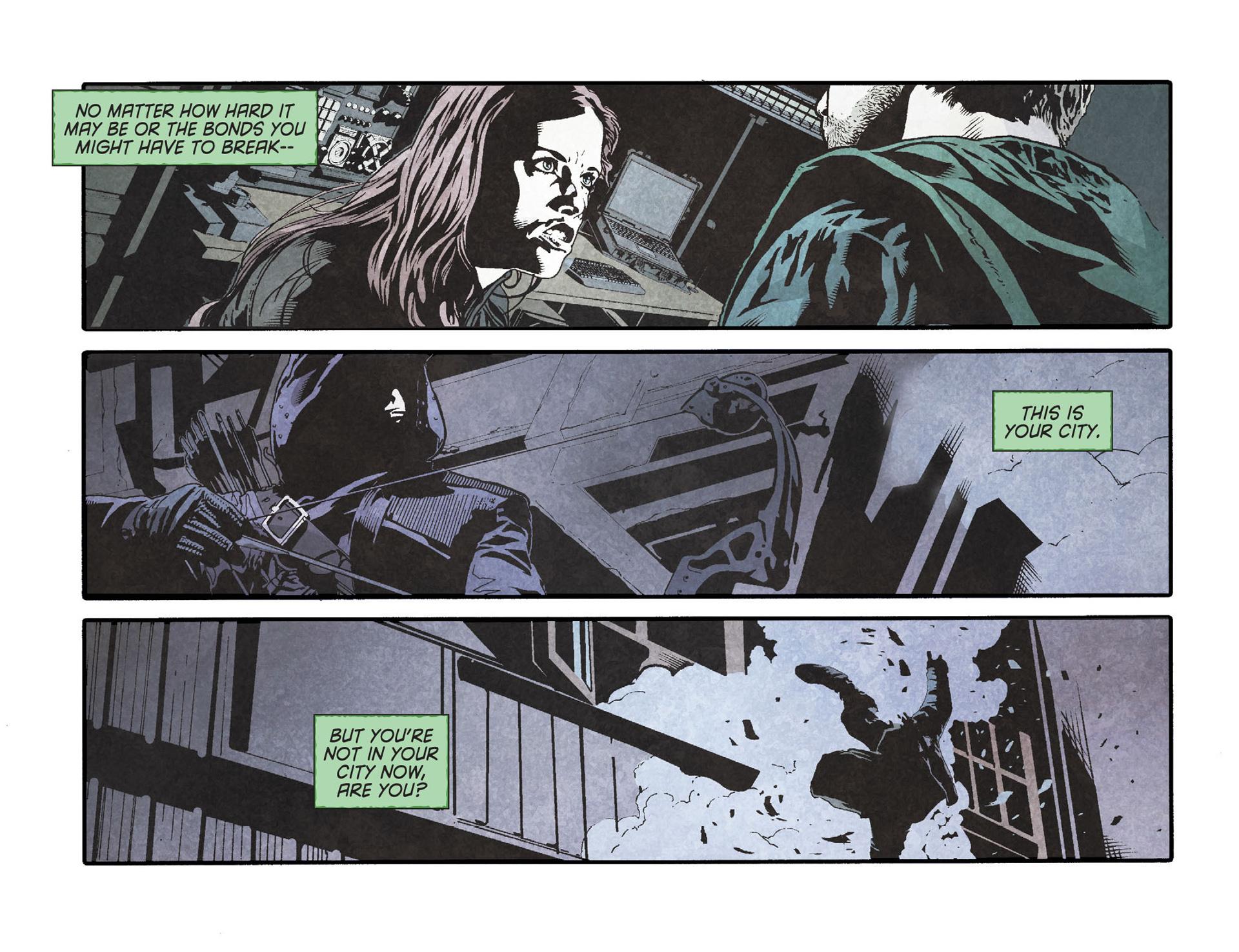 Read online Arrow [II] comic -  Issue #23 - 16