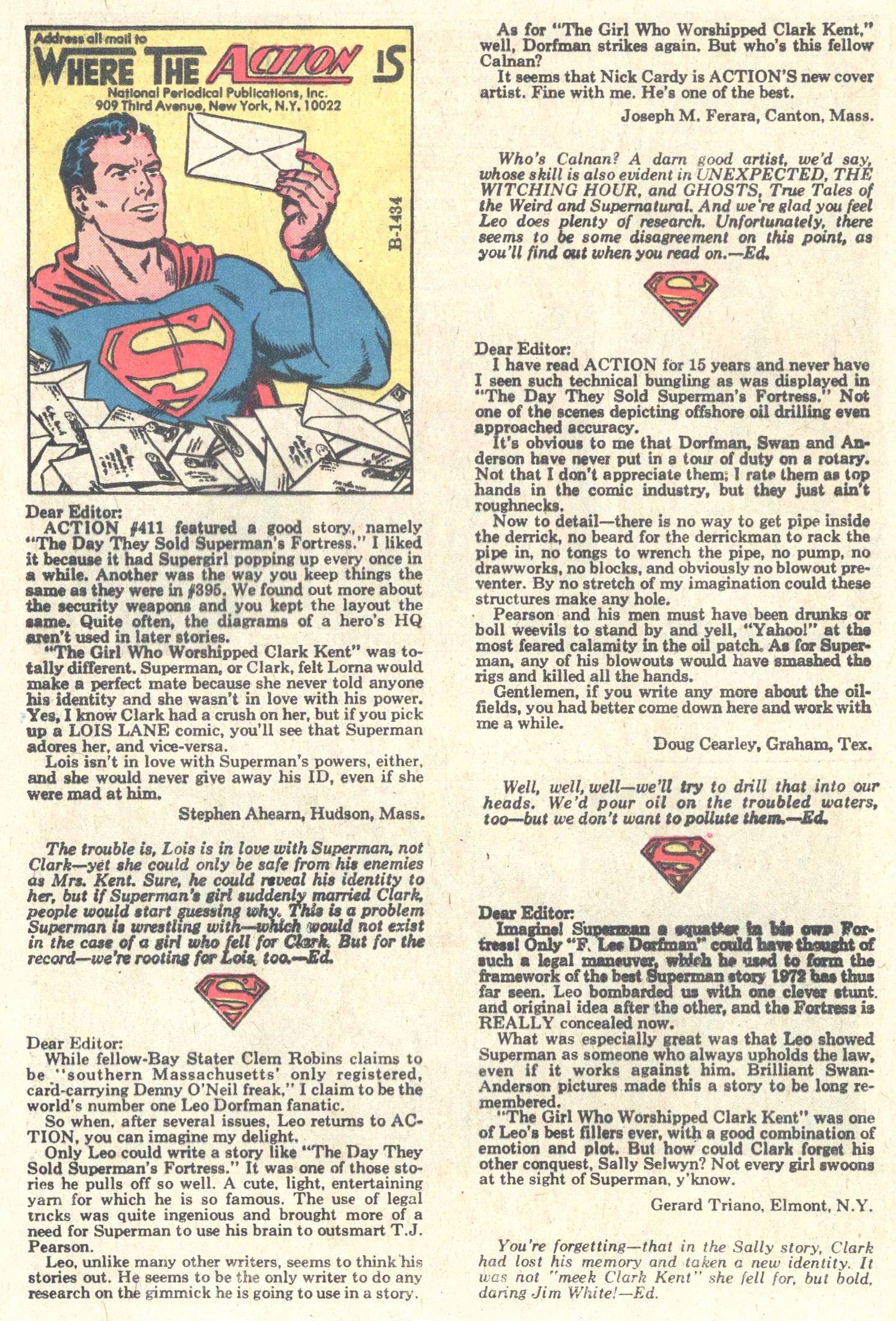 Read online Action Comics (1938) comic -  Issue #415 - 31