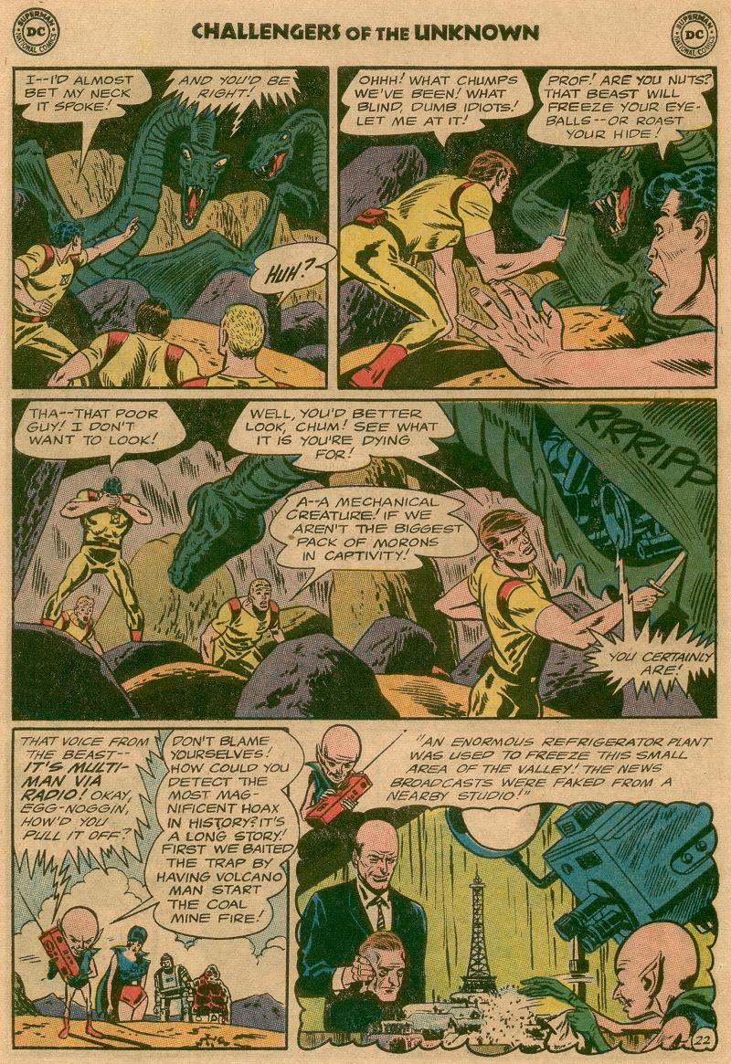 Challengers of the Unknown (1958) issue 45 - Page 27