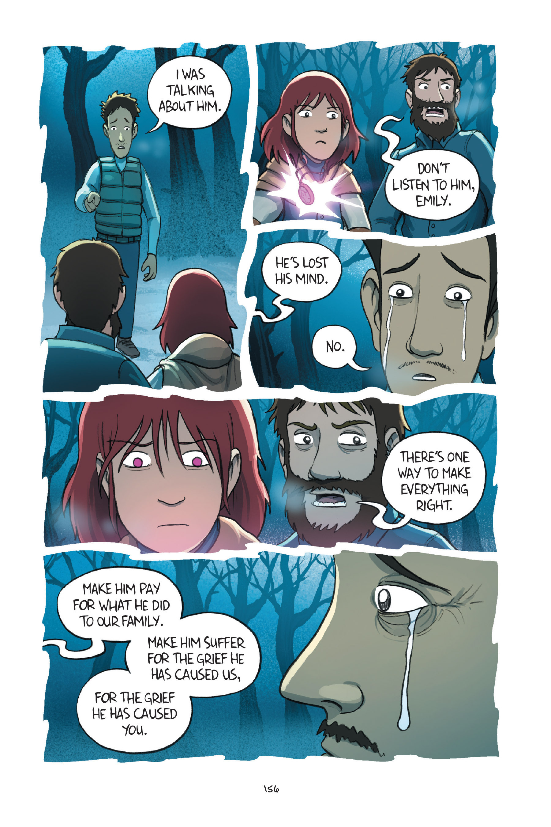 Read online Amulet comic -  Issue #7 - 156