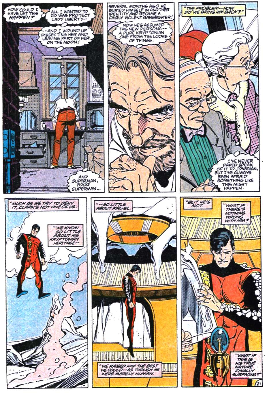 Read online Adventures of Superman (1987) comic -  Issue #465 - 22