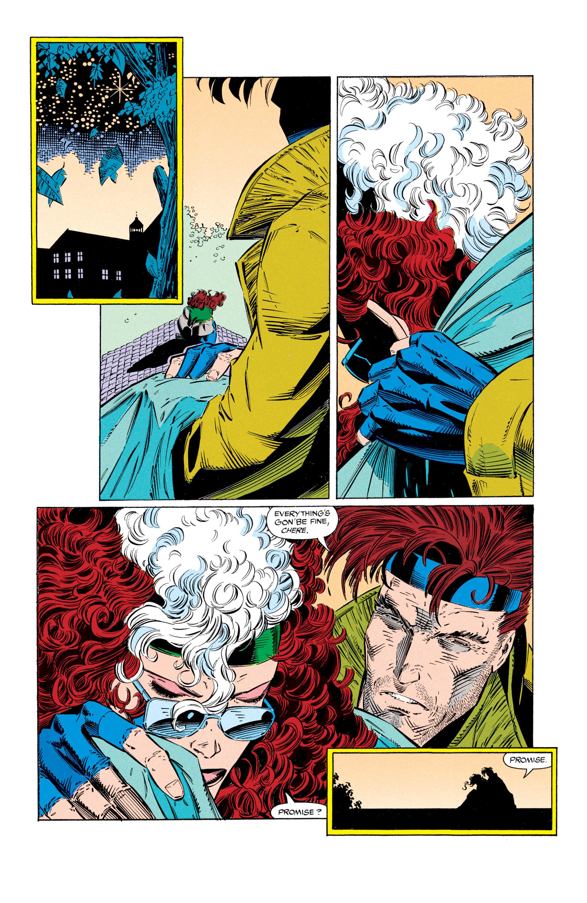 Read online Uncanny X-Men (1963) comic -  Issue #297 - 18