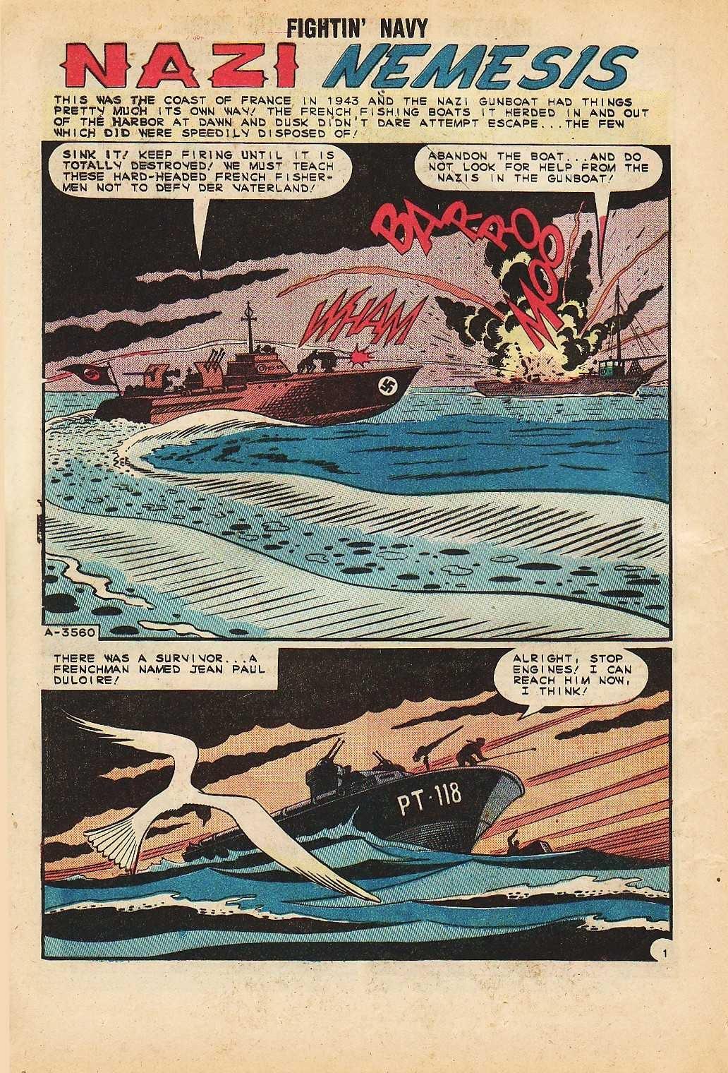 Read online Fightin' Navy comic -  Issue #116 - 12