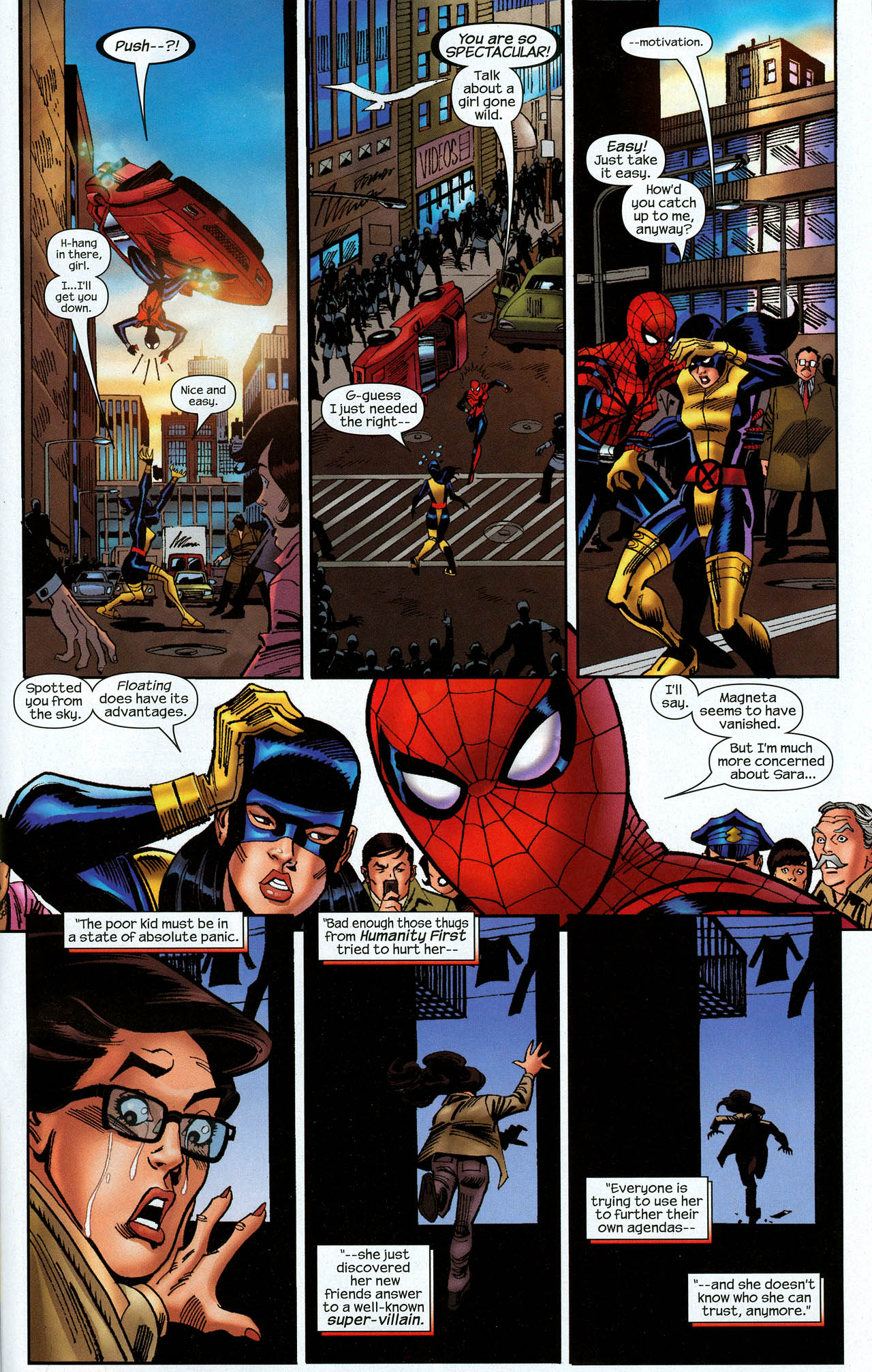 Read online Amazing Spider-Girl comic -  Issue #22 - 31