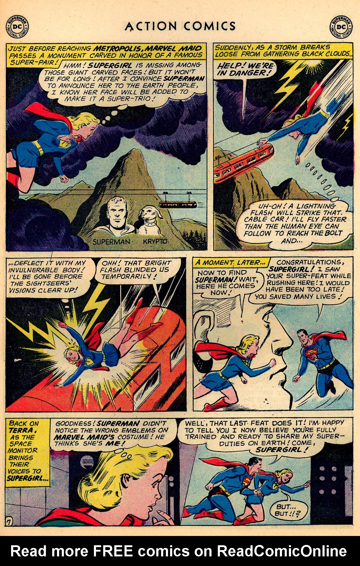 Read online Action Comics (1938) comic -  Issue #273 - 23
