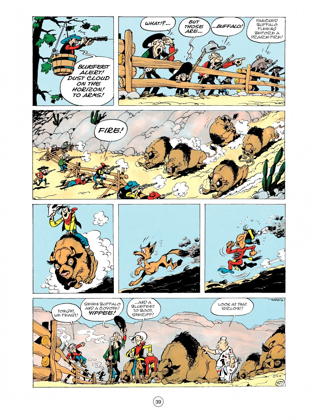 Read online A Lucky Luke Adventure comic -  Issue #43 - 39