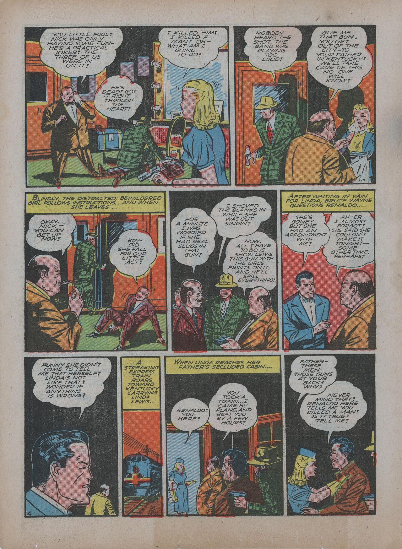 Read online Detective Comics (1937) comic -  Issue #48 - 6