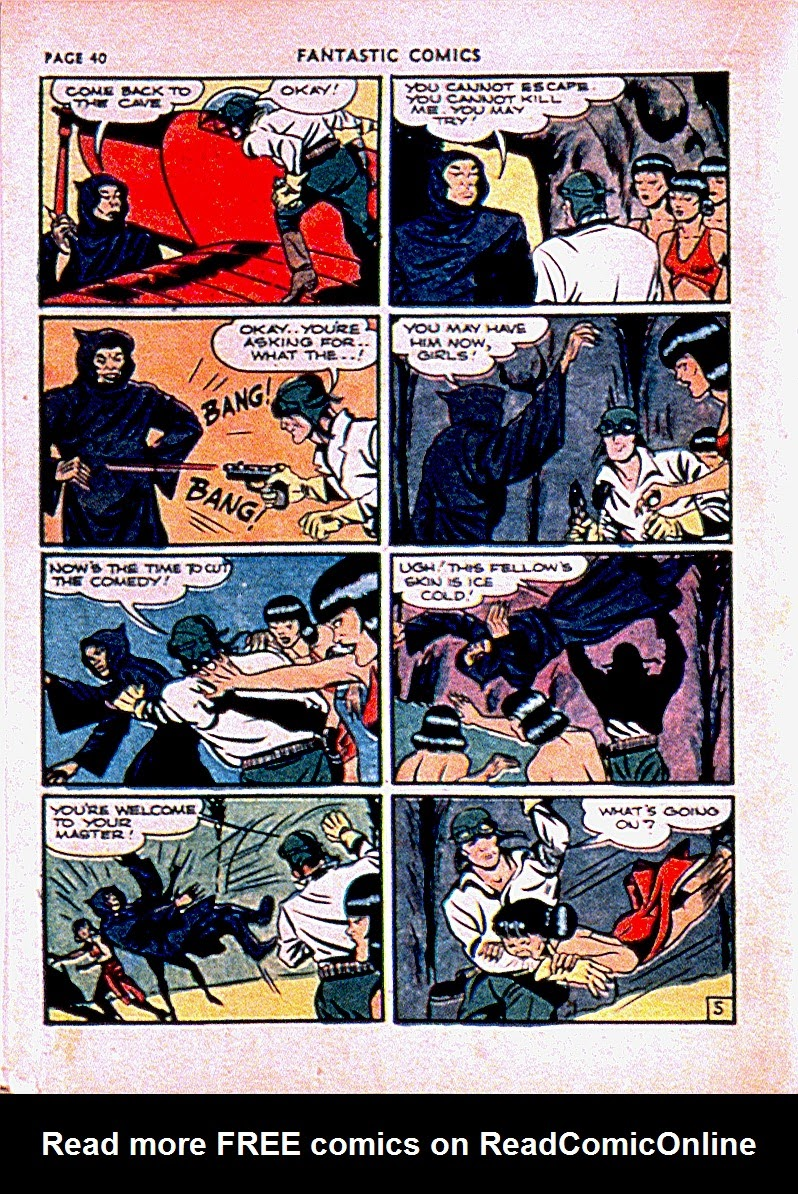 Fantastic Comics issue 13 - Page 43