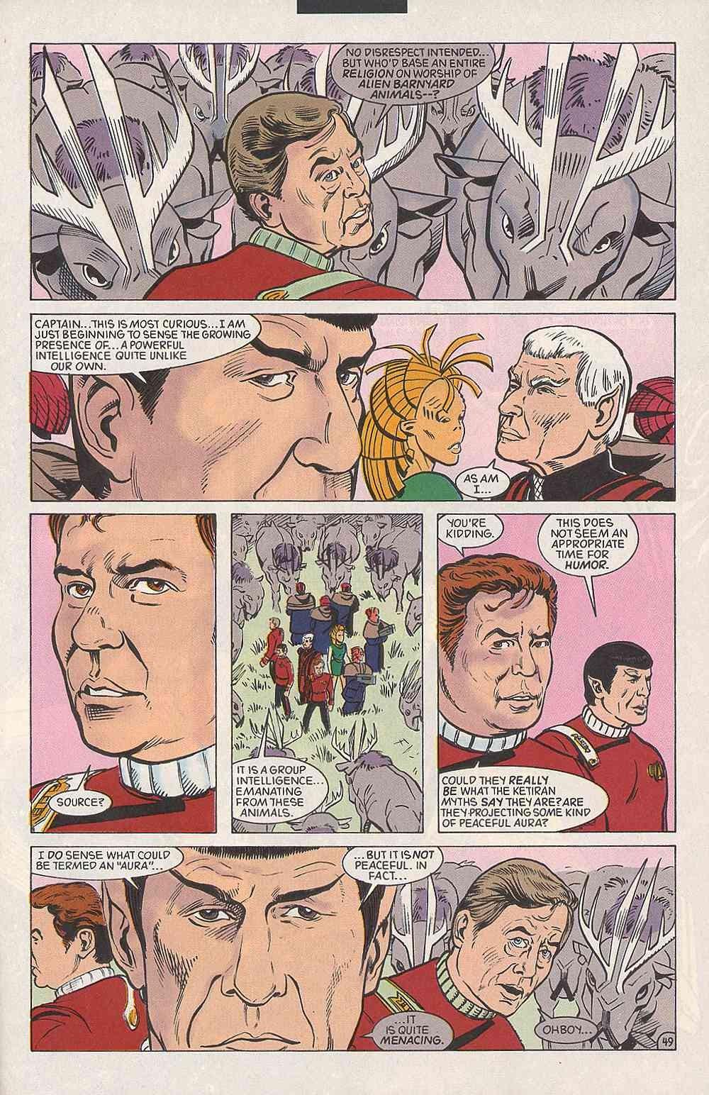 Read online Star Trek (1989) comic -  Issue # Annual 3 - 53