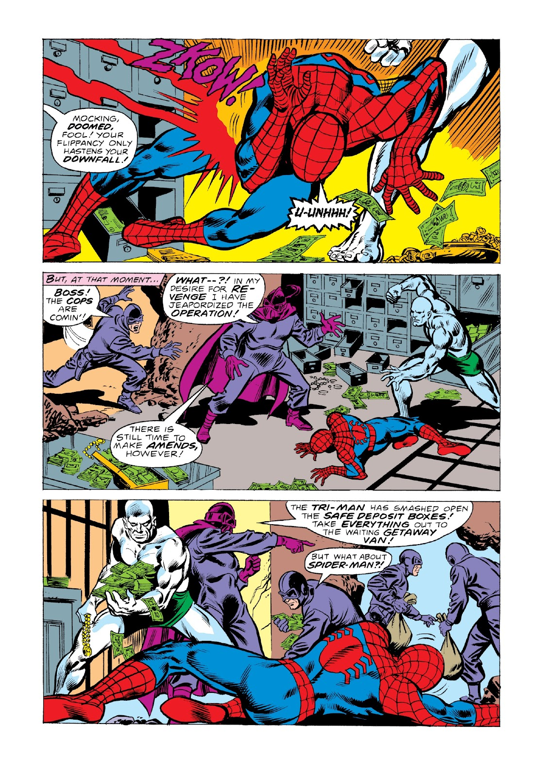 Read online Marvel Masterworks: The Spectacular Spider-Man comic -  Issue # TPB 2 (Part 2) - 93