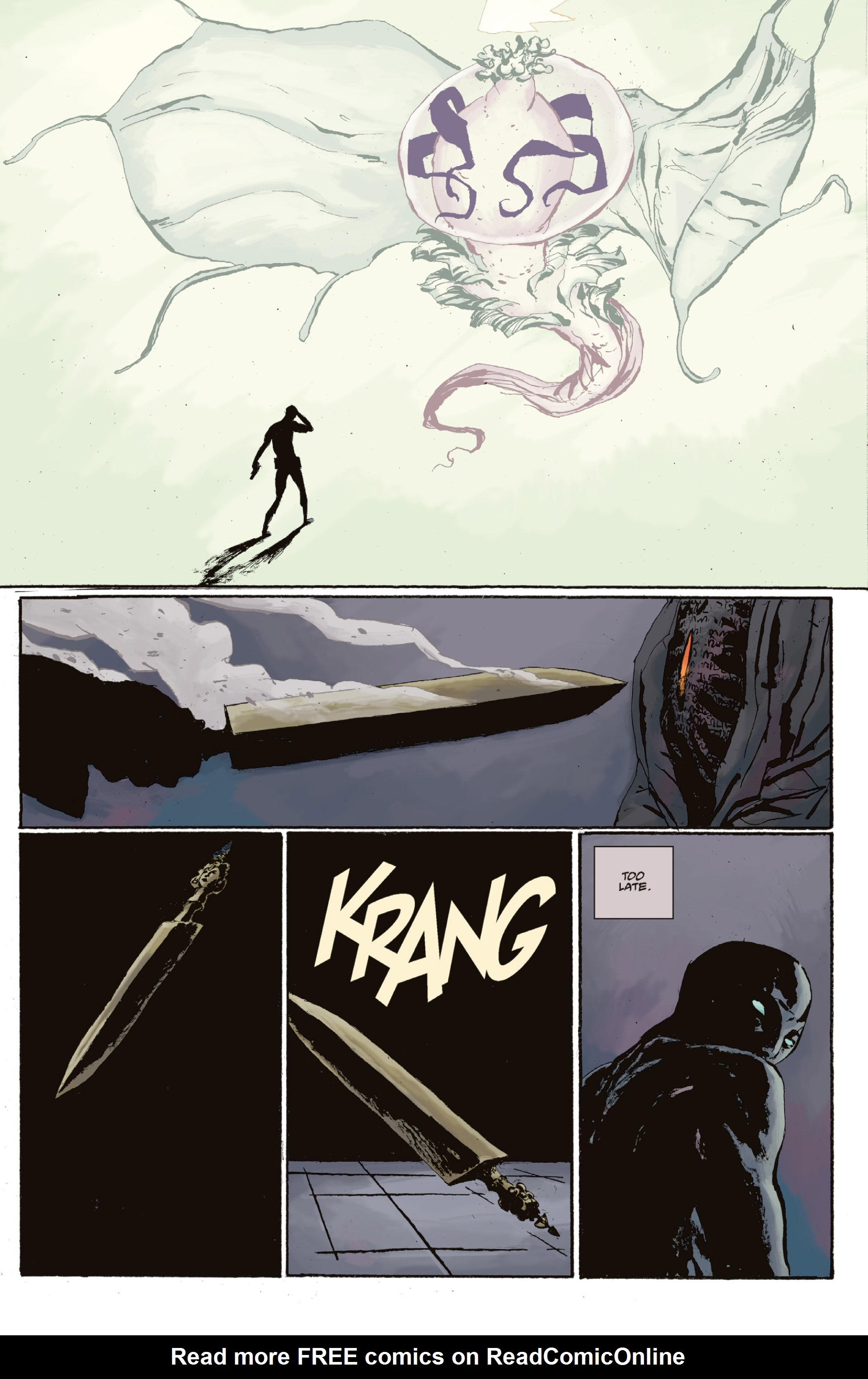 Read online Abe Sapien: The Drowning comic -  Issue #Abe Sapien: The Drowning _TPB - 122