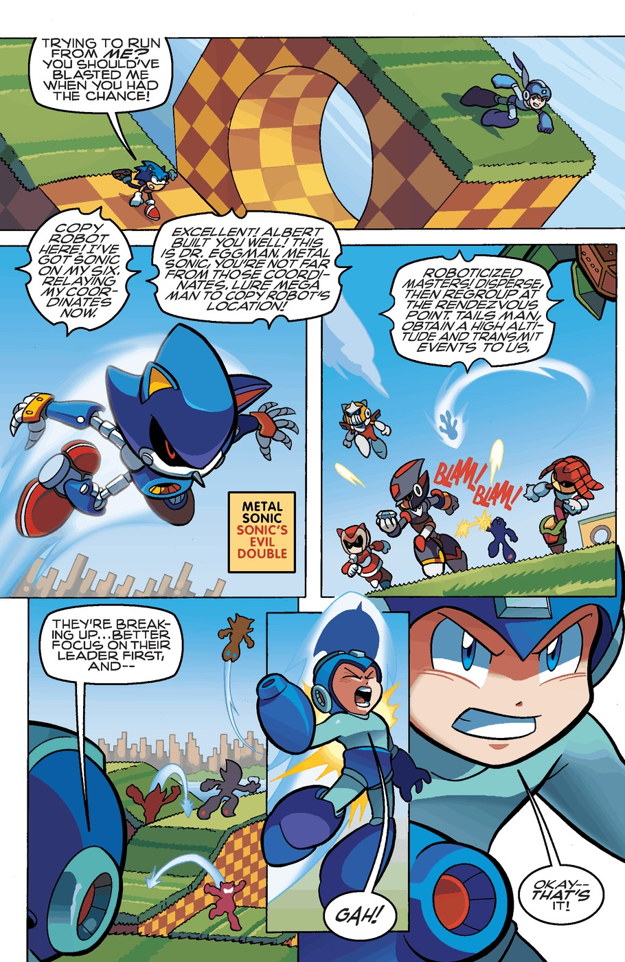 Read online Sonic Universe comic -  Issue #51 - 19