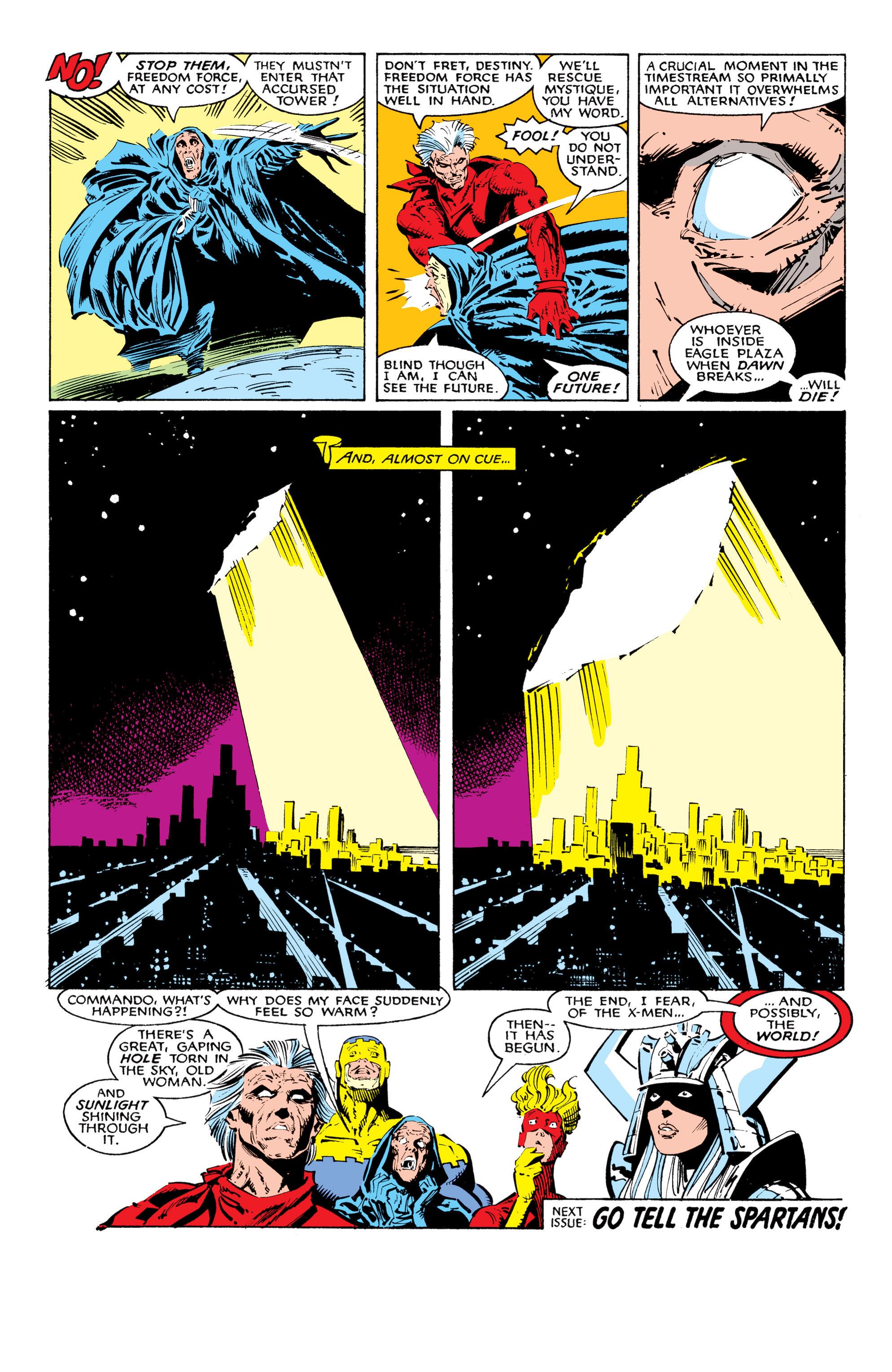 Read online Uncanny X-Men (1963) comic -  Issue #225 - 25