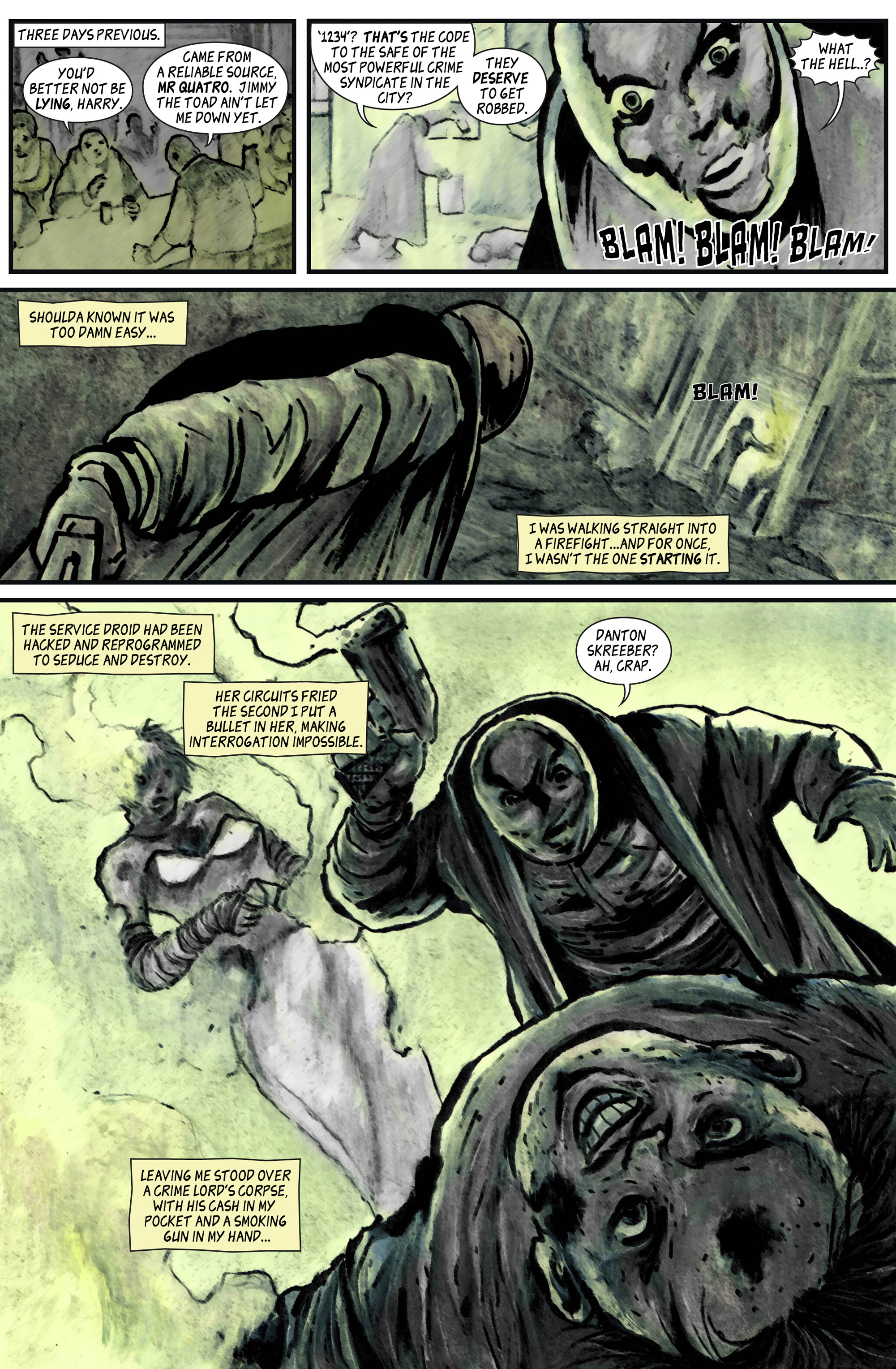 Read online 100% Biodegradable comic -  Issue #12 - 26