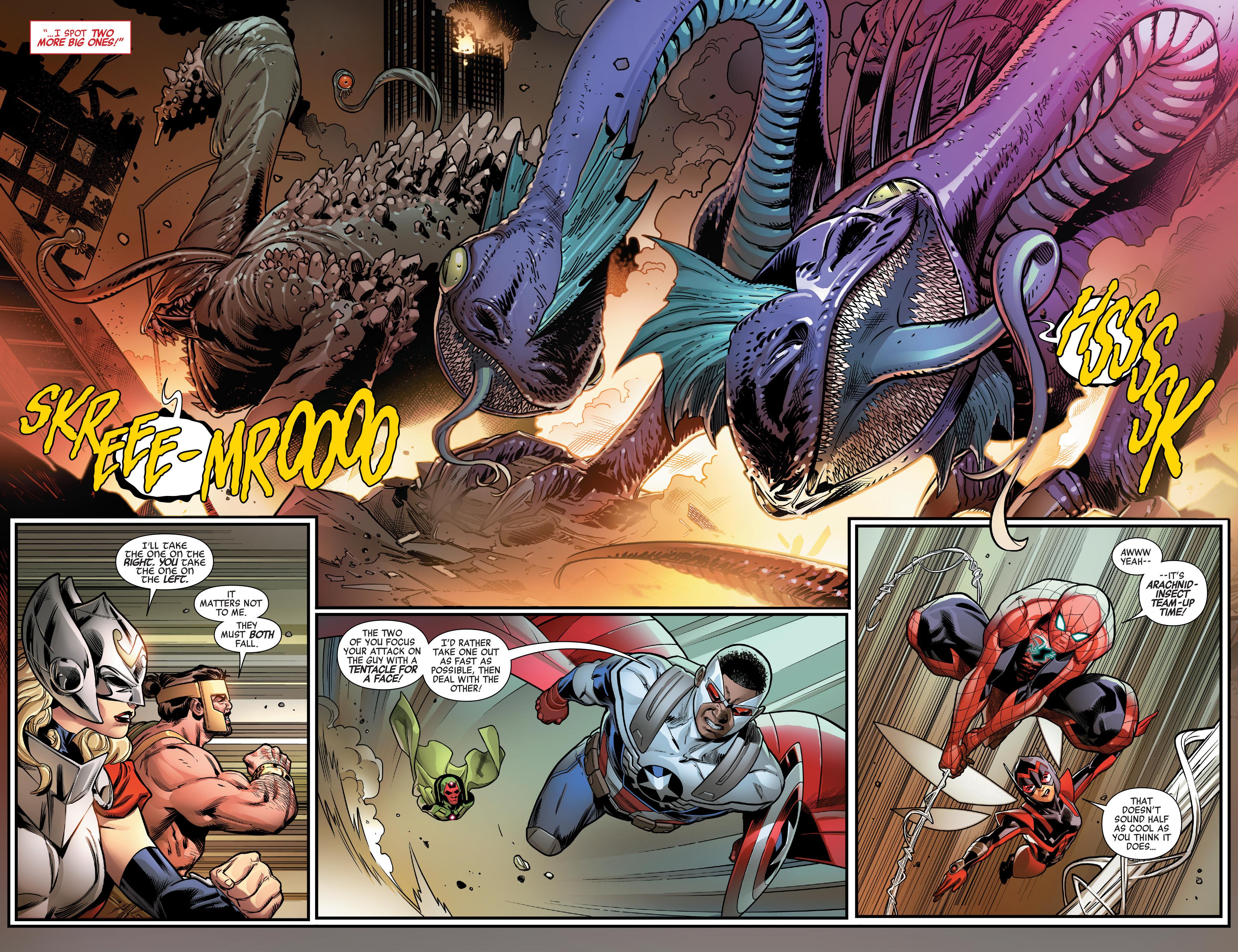 Read online Avengers (2016) comic -  Issue #1.MU - 23