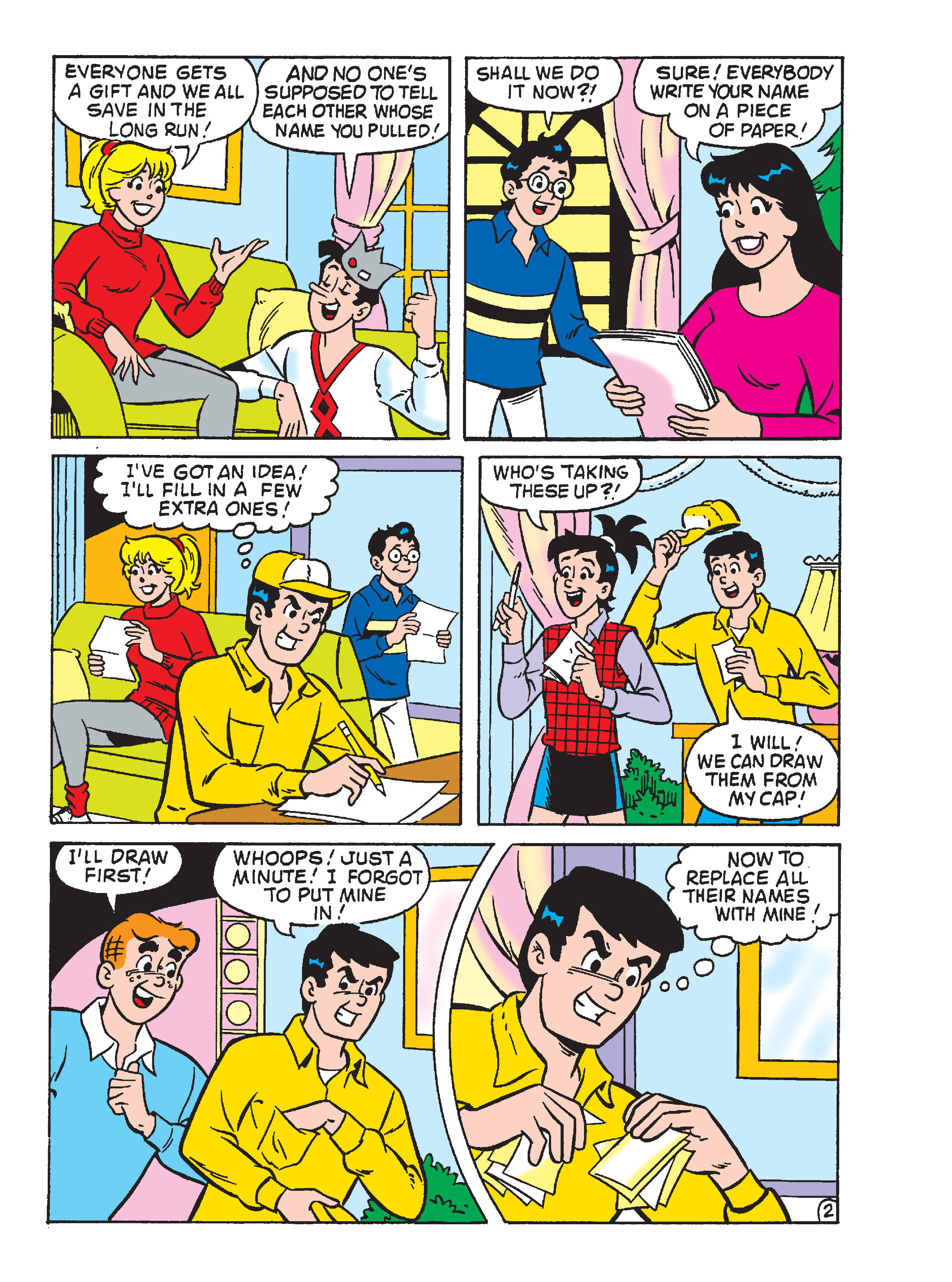 Read online Archie's Funhouse Double Digest comic -  Issue #23 - 25