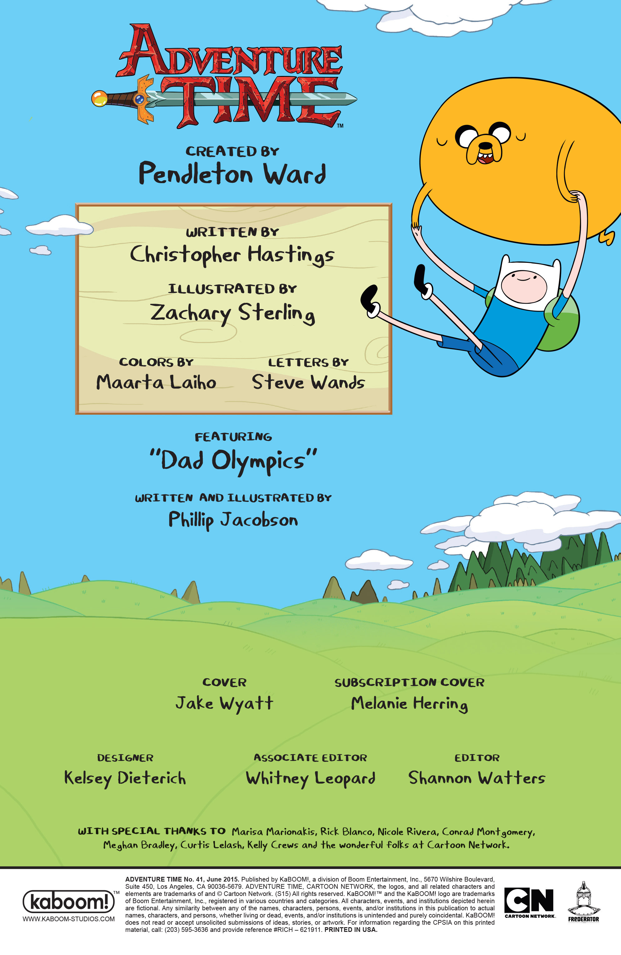 Read online Adventure Time comic -  Issue #41 - 2