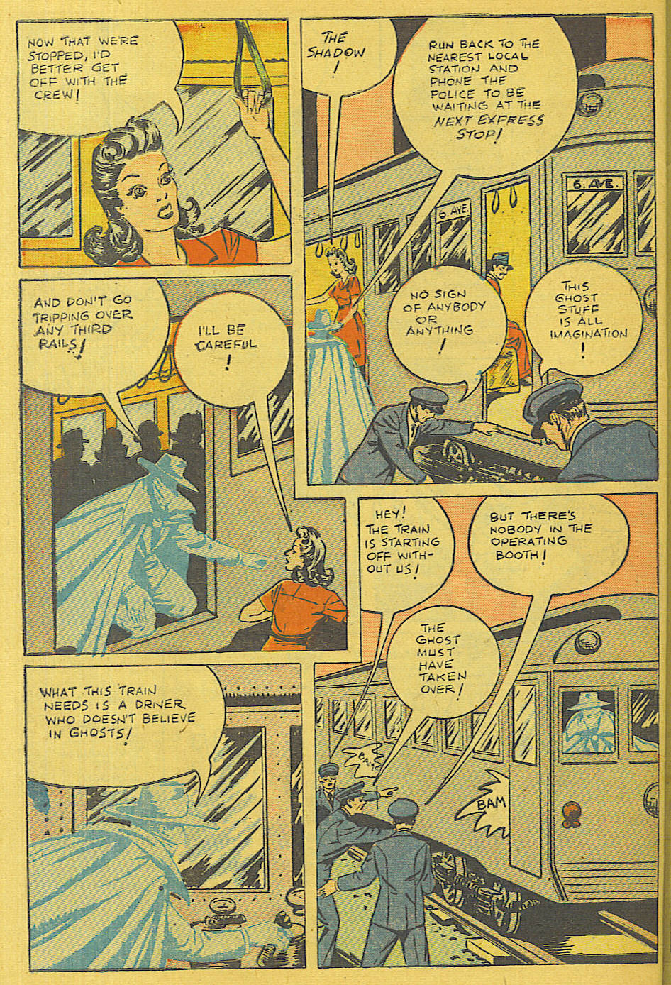 Read online Shadow Comics comic -  Issue #71 - 43