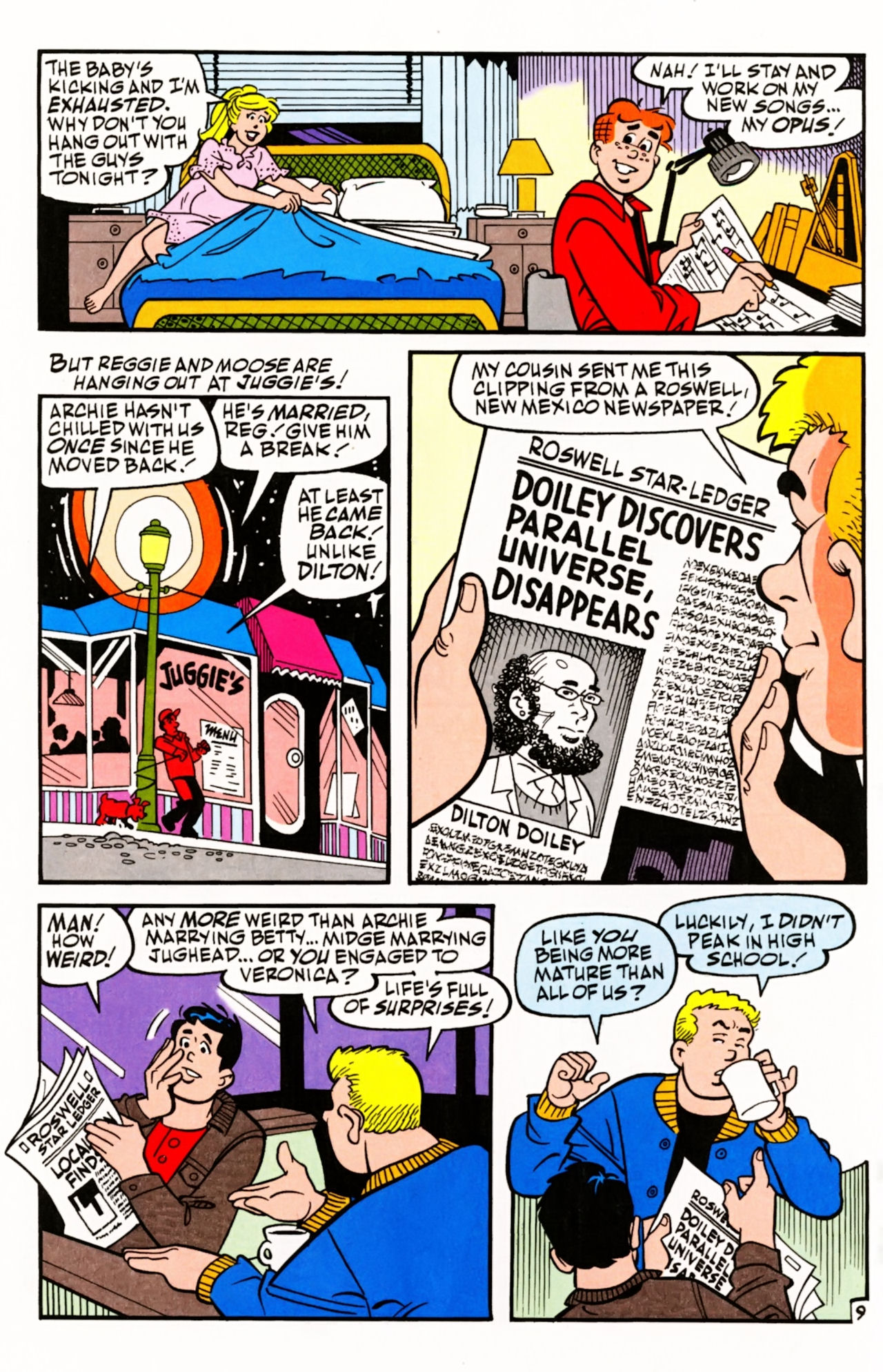 Read online Archie (1960) comic -  Issue #605 - 14